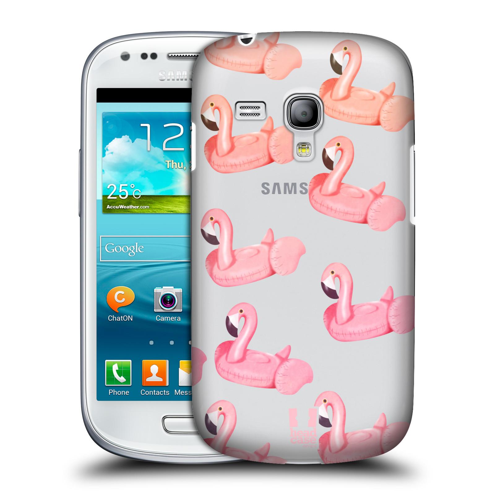 Plastové pouzdro na mobil Samsung Galaxy S III Mini - Head Case - Kruh plaměňák