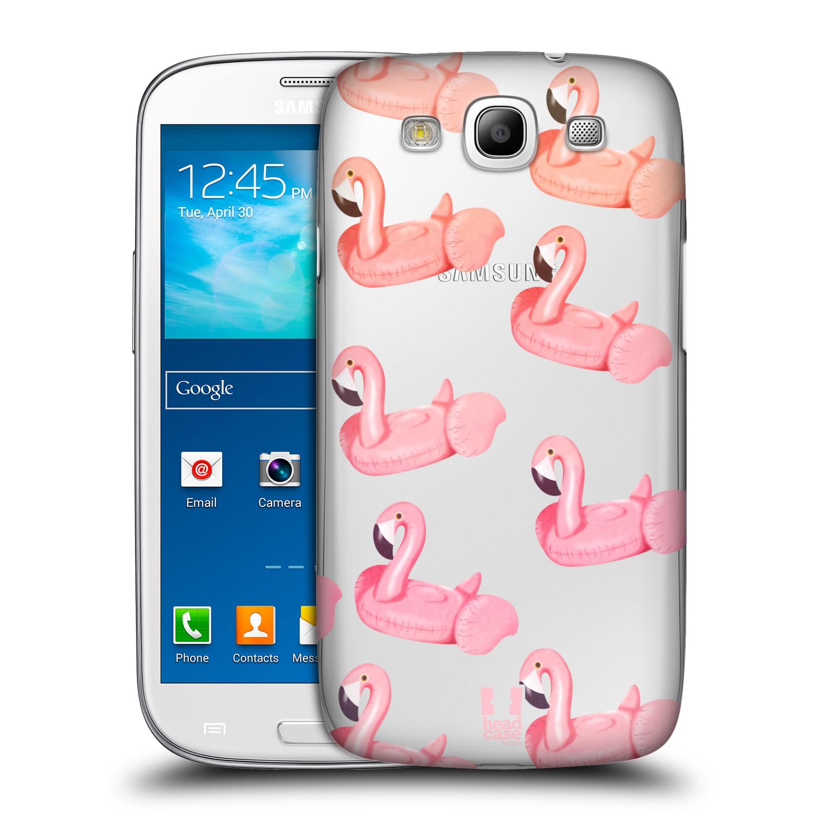 Plastové pouzdro na mobil Samsung Galaxy S3 Neo - Head Case - Kruh plaměňák