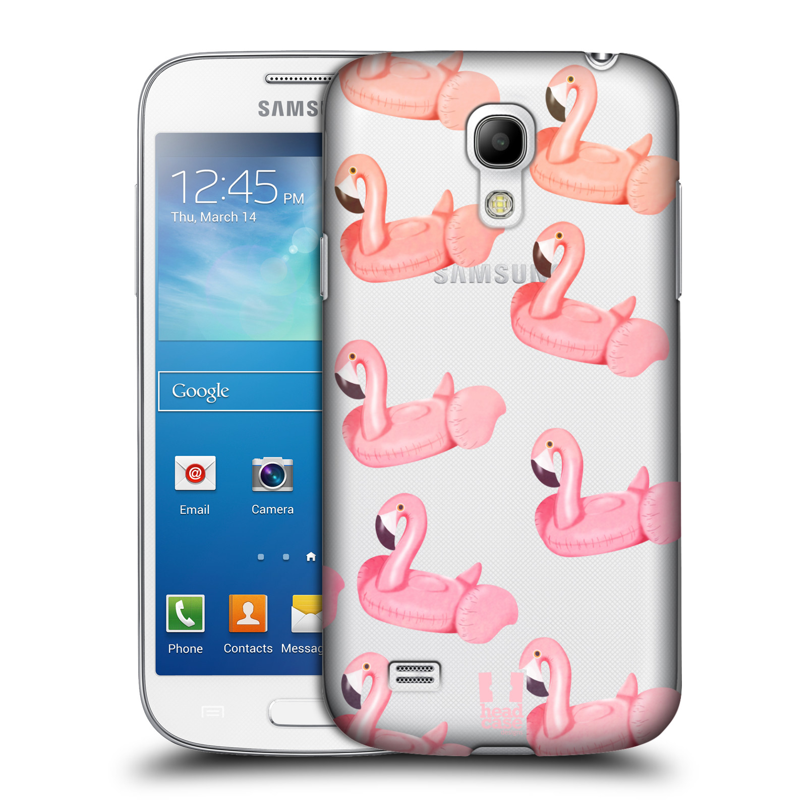 Plastové pouzdro na mobil Samsung Galaxy S4 Mini - Head Case - Kruh plaměňák
