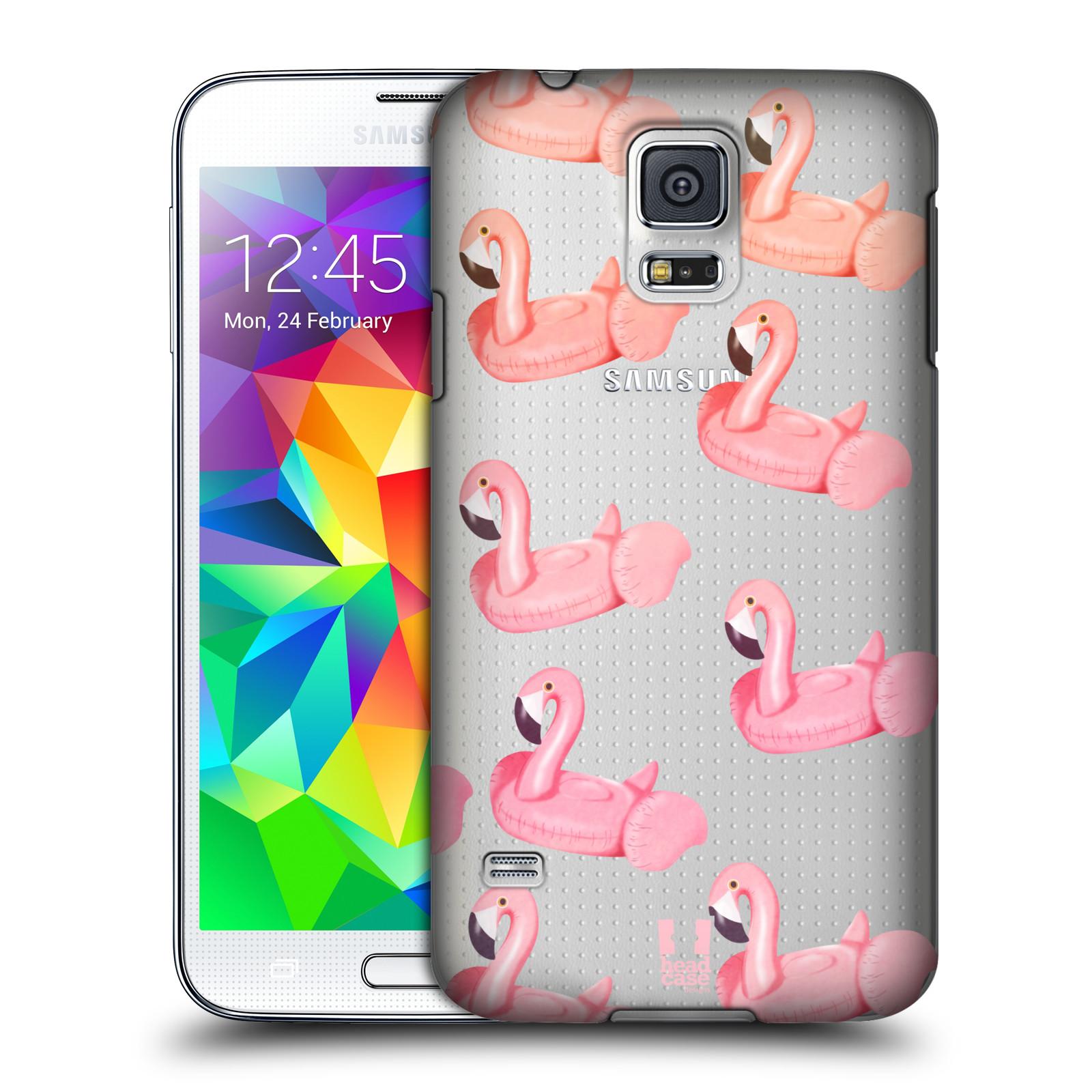 Plastové pouzdro na mobil Samsung Galaxy S5 - Head Case - Kruh plaměňák