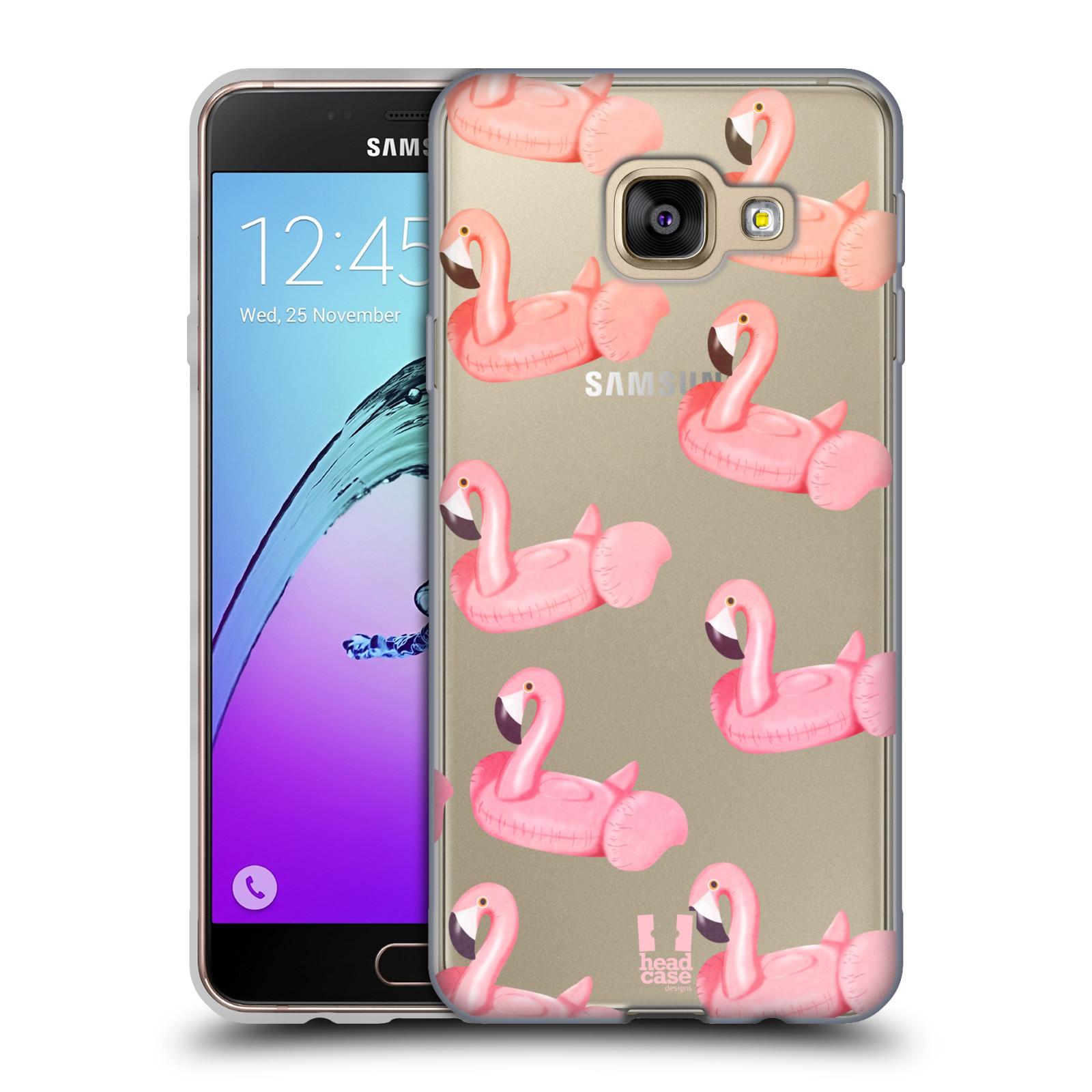 Silikonové pouzdro na mobil Samsung Galaxy A3 (2016) - Head Case - Kruh plaměňák