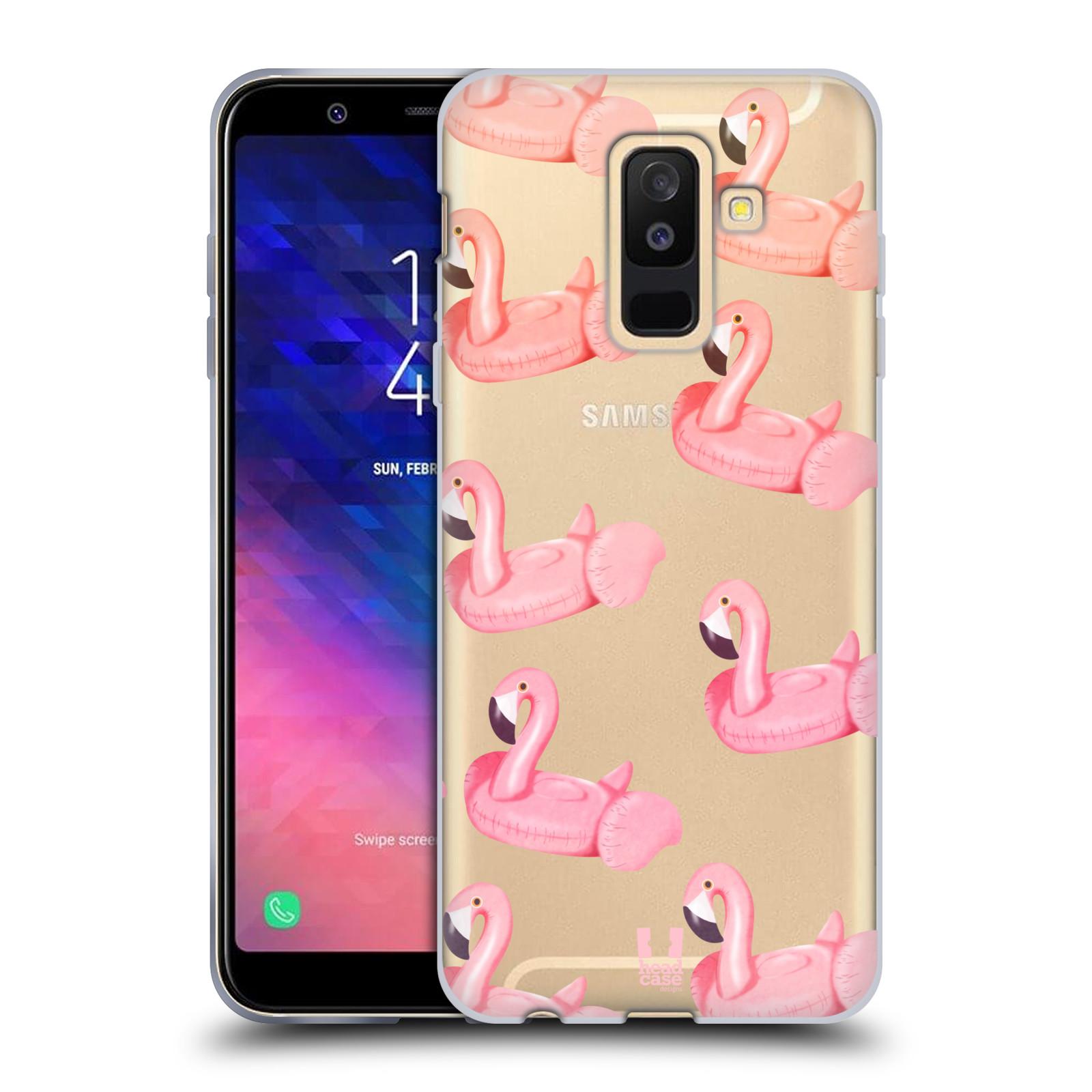 Silikonové pouzdro na mobil Samsung Galaxy A6 Plus (2018) - Head Case - Kruh plaměňák