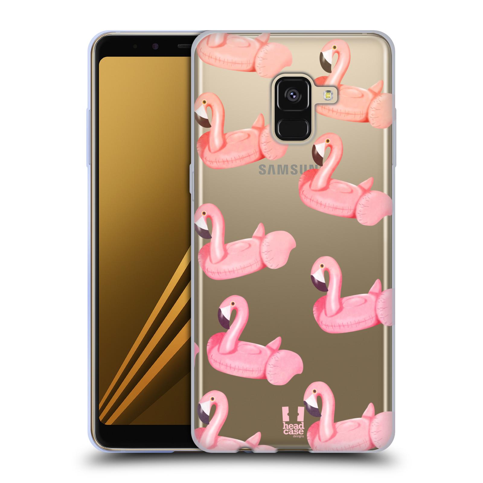 Silikonové pouzdro na mobil Samsung Galaxy A8 (2018) - Head Case - Kruh plaměňák