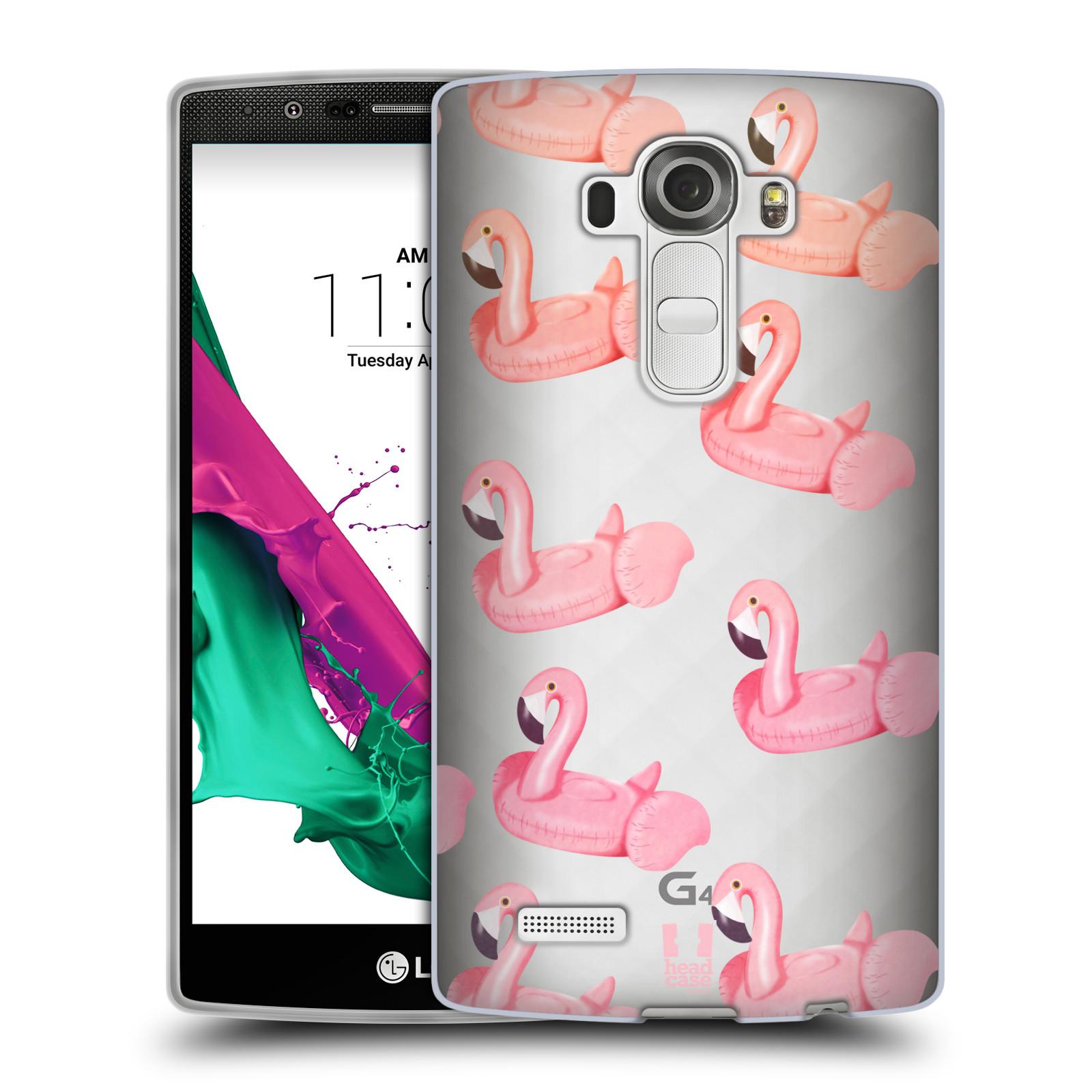 Silikonové pouzdro na mobil LG G4 - Head Case - Kruh plaměňák