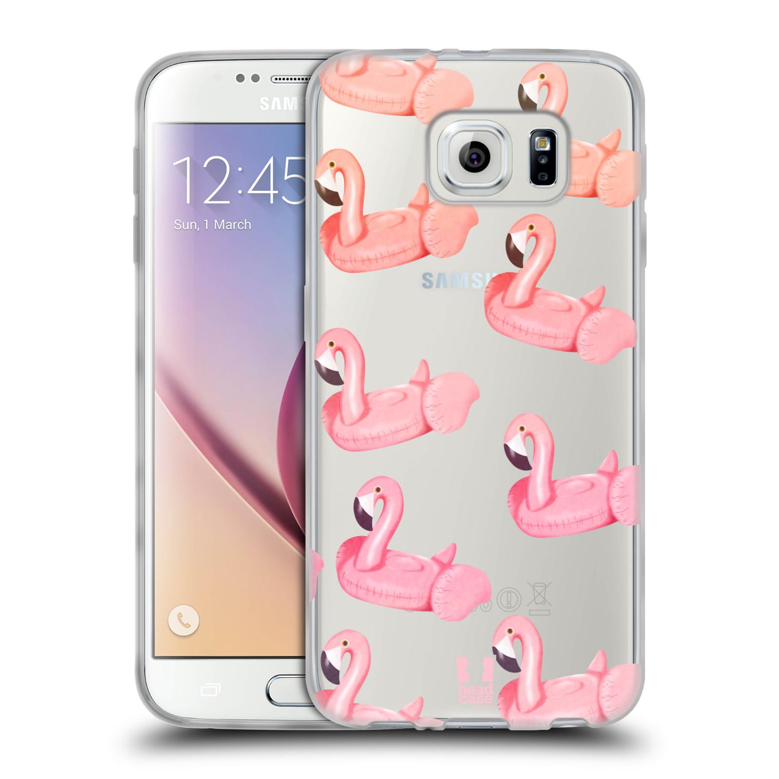 Silikonové pouzdro na mobil Samsung Galaxy S6 - Head Case - Kruh plaměňák