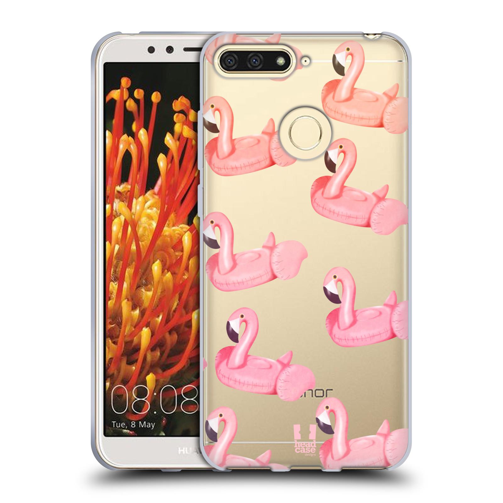Silikonové pouzdro na mobil Huawei Y6 Prime (2018) - Head Case - Kruh plaměňák
