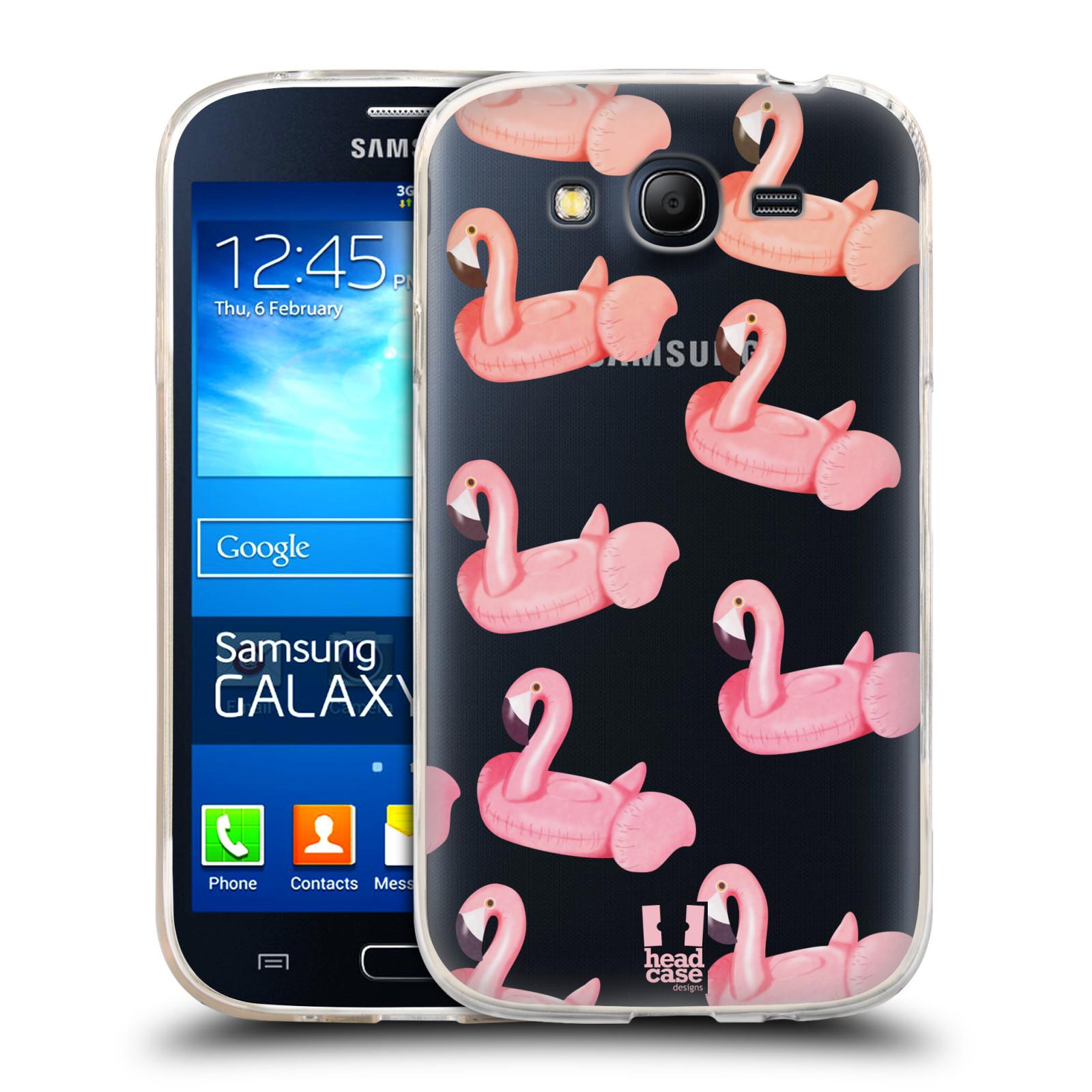 Silikonové pouzdro na mobil Samsung Galaxy Grand Neo Plus - Head Case - Kruh plaměňák