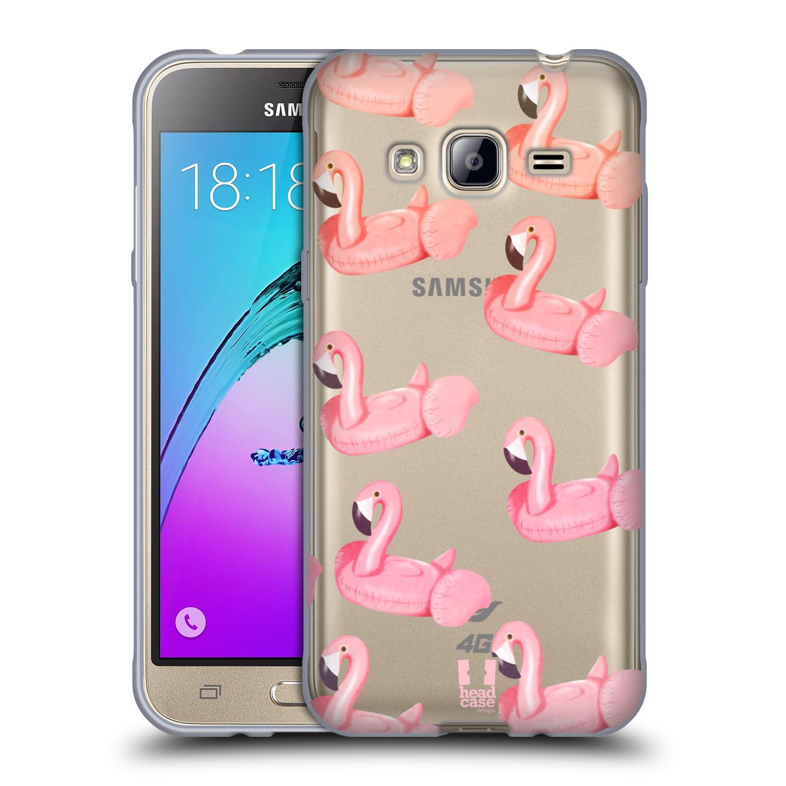 Silikonové pouzdro na mobil Samsung Galaxy J3 (2016) - Head Case - Kruh plaměňák