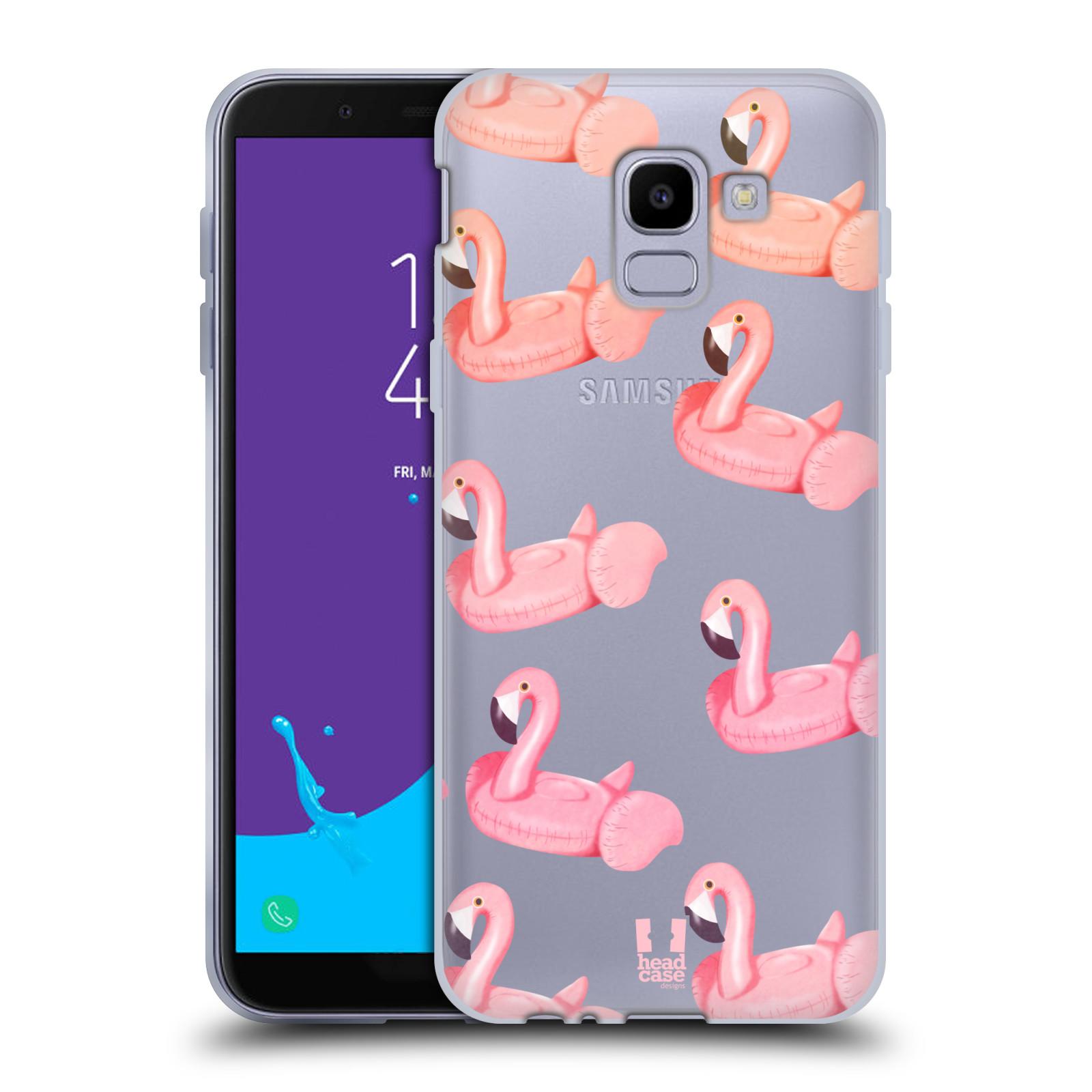 Silikonové pouzdro na mobil Samsung Galaxy J6 (2018) - Head Case - Kruh plaměňák