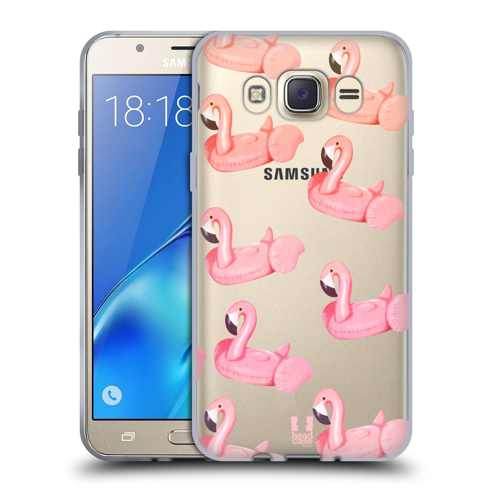 Silikonové pouzdro na mobil Samsung Galaxy J7 (2016) - Head Case - Kruh plaměňák
