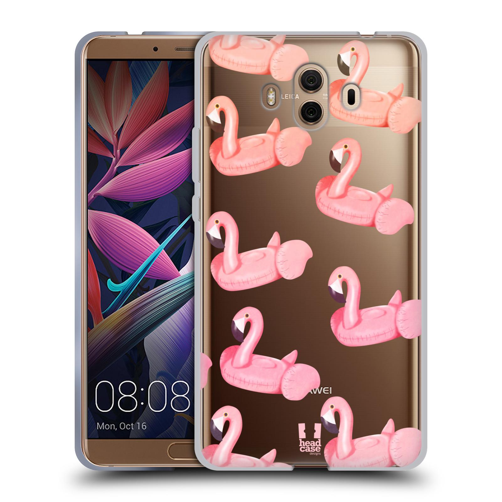 Silikonové pouzdro na mobil Huawei Mate 10 - Head Case - Kruh plaměňák