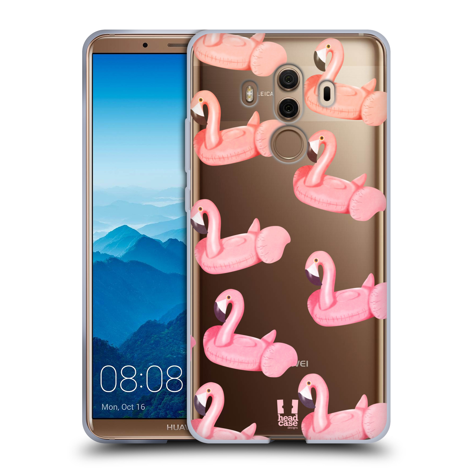 Silikonové pouzdro na mobil Huawei Mate 10 Pro - Head Case - Kruh plaměňák