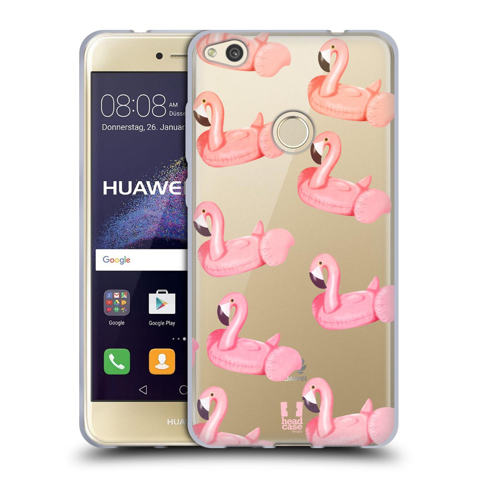 Silikonové pouzdro na mobil Huawei P9 Lite (2017) - Head Case - Kruh plaměňák