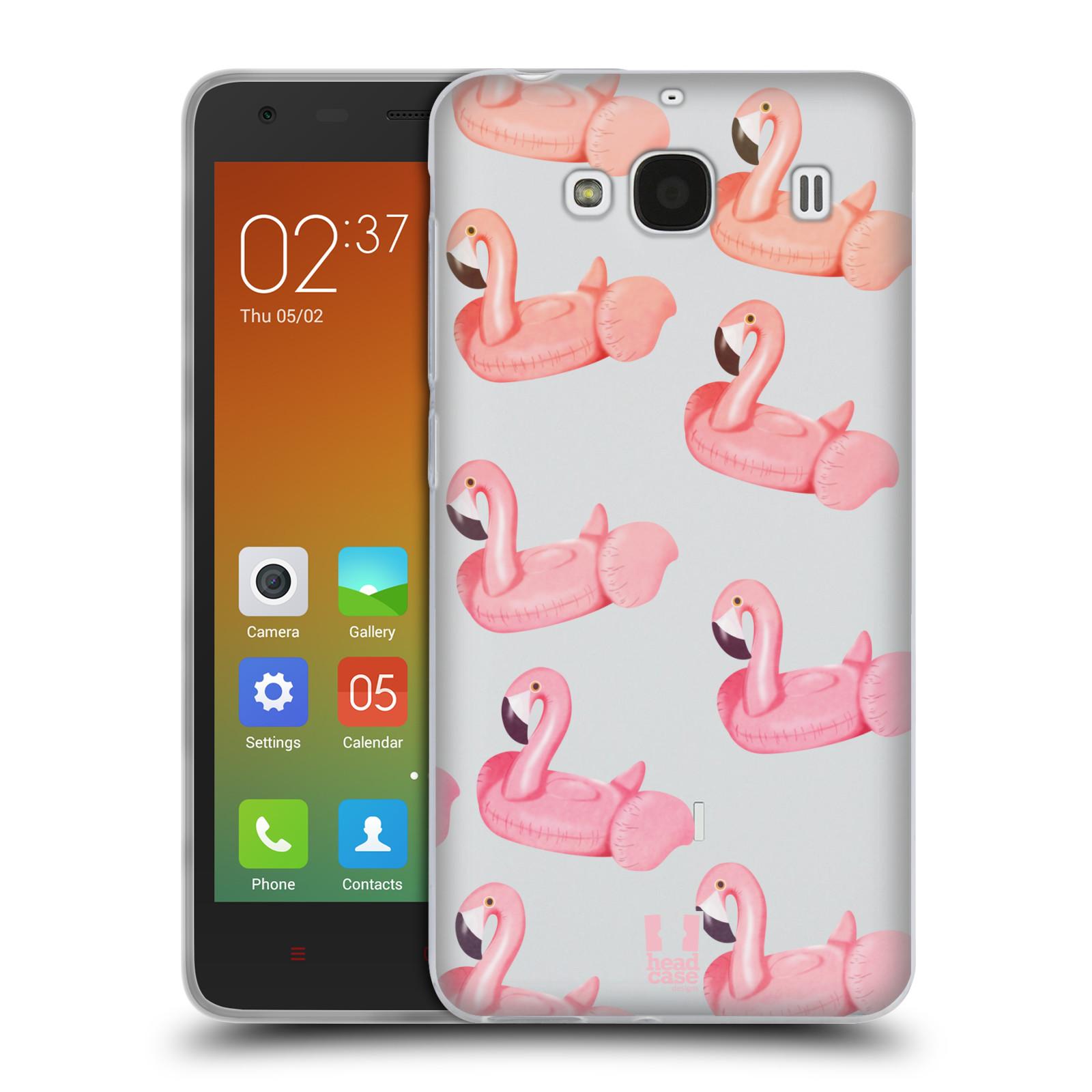Silikonové pouzdro na mobil Xiaomi Redmi 2 - Head Case - Kruh plaměňák