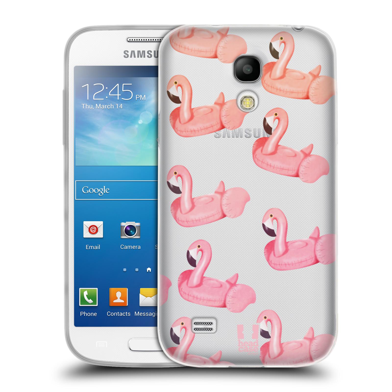 Silikonové pouzdro na mobil Samsung Galaxy S4 Mini - Head Case - Kruh plaměňák