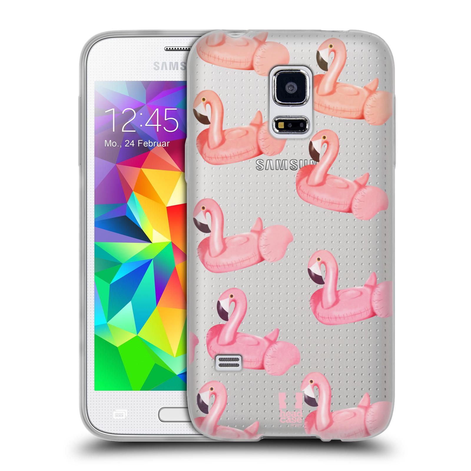 Silikonové pouzdro na mobil Samsung Galaxy S5 Mini - Head Case - Kruh plaměňák