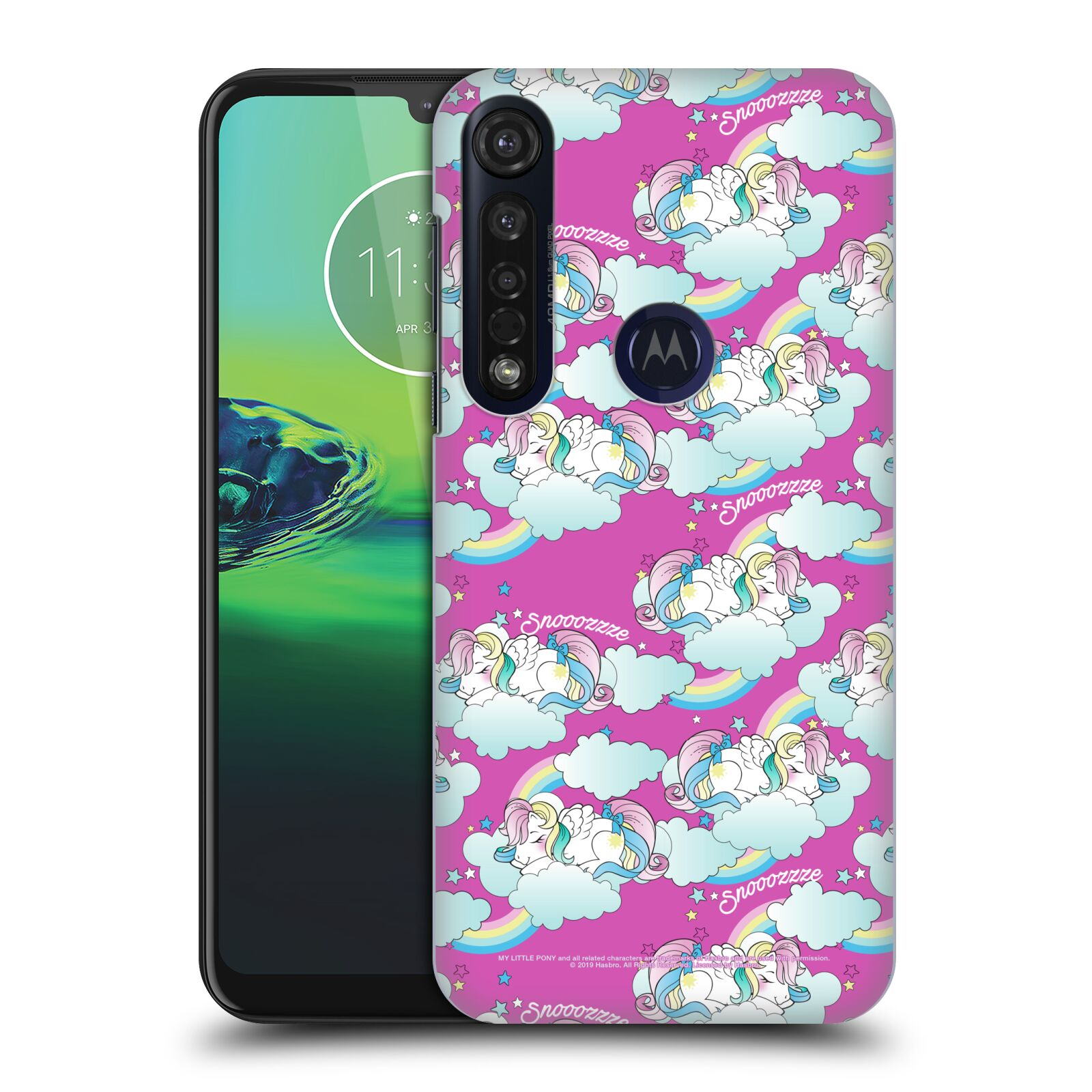 Official My Little Pony Classic Off My Cloud Sleeping Unicorns Case for Motorola Moto G8 Plus