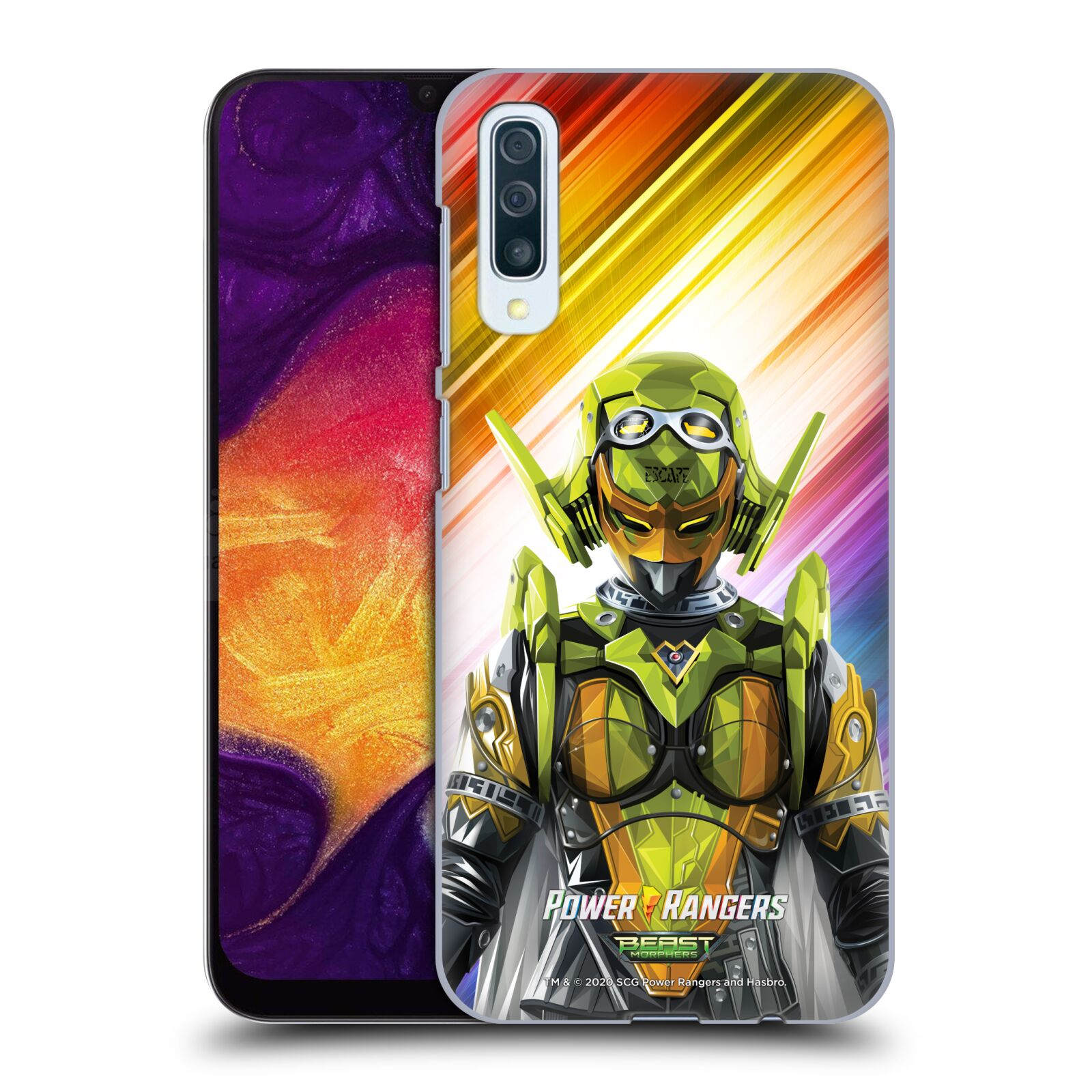 Official Power Rangers Beast Morphers Characters Roxy Case for Samsung Galaxy A50/A30s (2019)