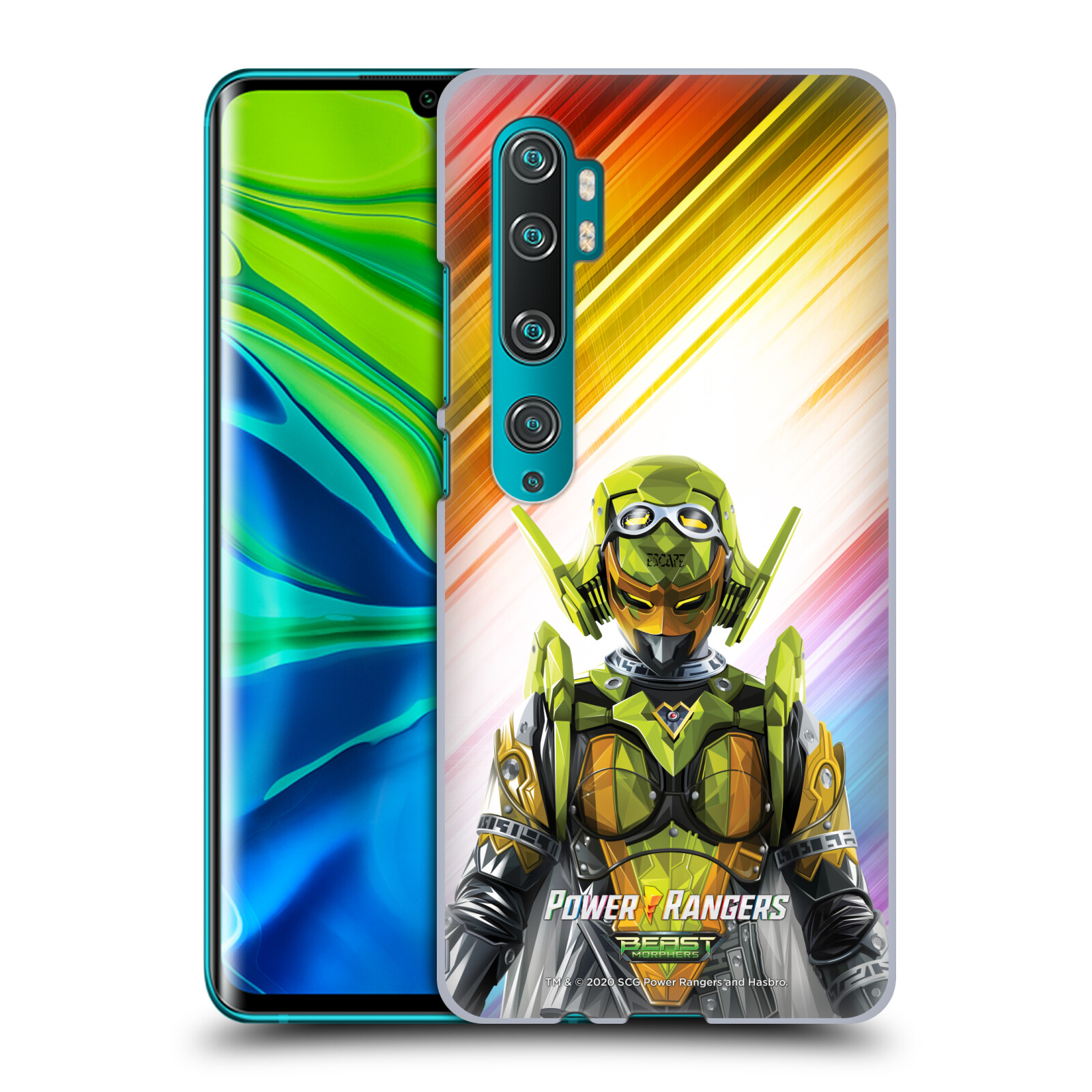 Official Power Rangers Beast Morphers Characters Roxy Case for Xiaomi Mi CC9 Pro / Mi Note 10 / Pro