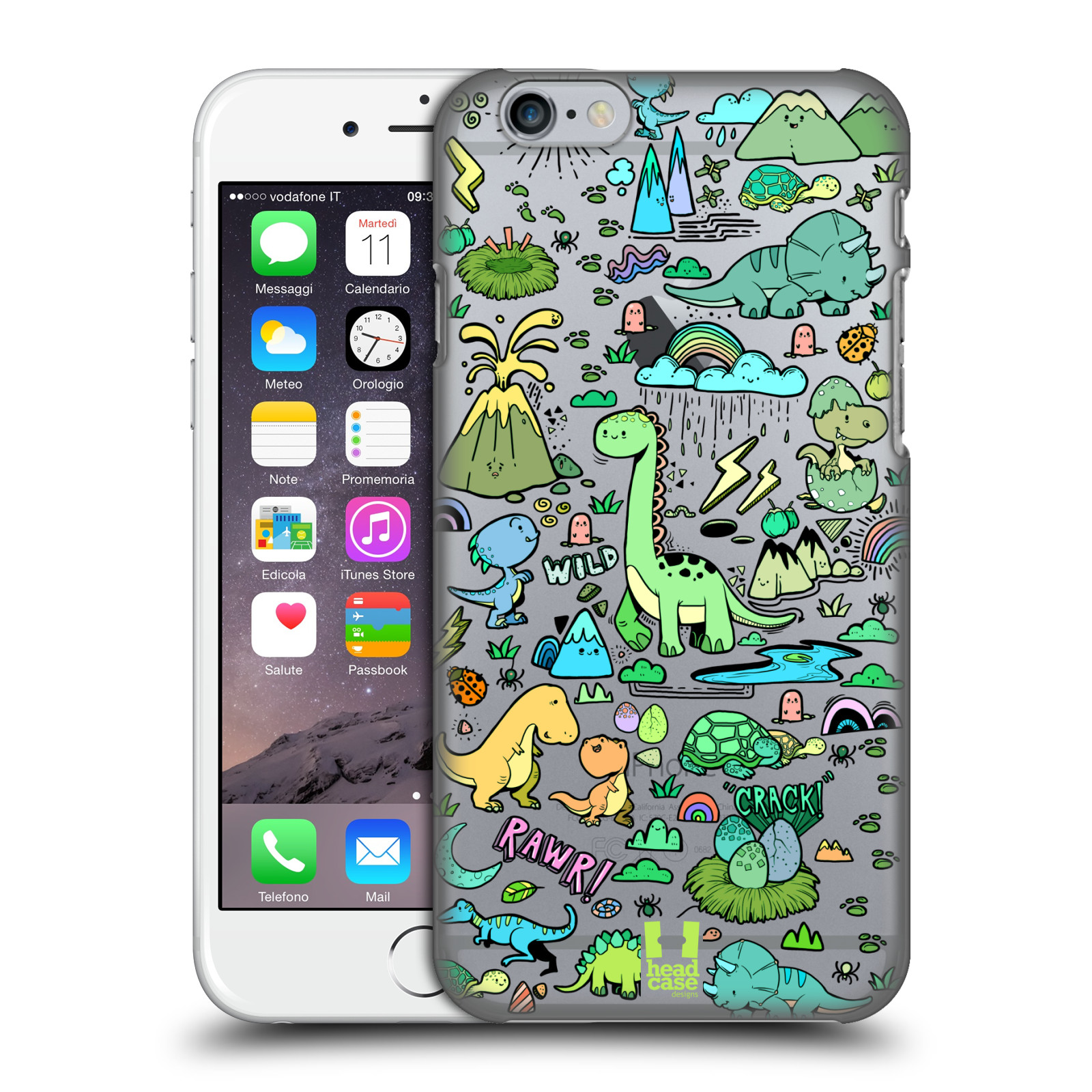 HEAD-CASE-DESIGNS-PREHISTORIC-PATTERNS-HARD-BACK-CASE-FOR-APPLE-iPHONE-PHONES
