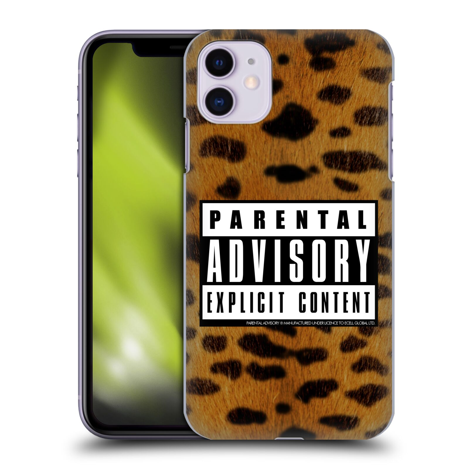 Official Parental Advisory Punk Rock Leopard Case for Apple iPhone 11