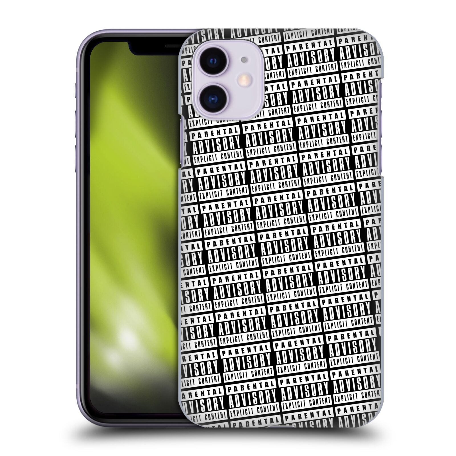 Official Parental Advisory Urban Street Style Pattern Case for Apple iPhone 11