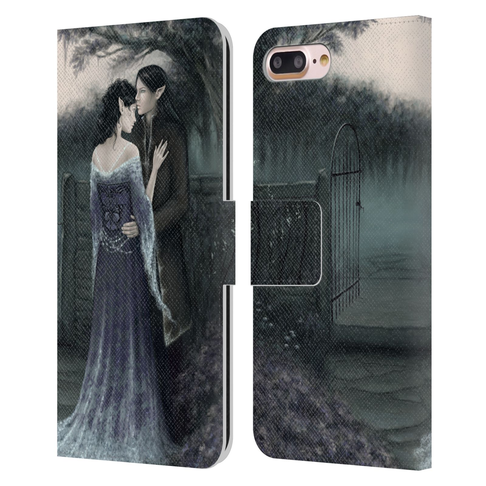Official Rachel Anderson Romance My Beloved Leather Book Wallet Case For Apple iPhone 7 Plus / iPhone 8 Plus