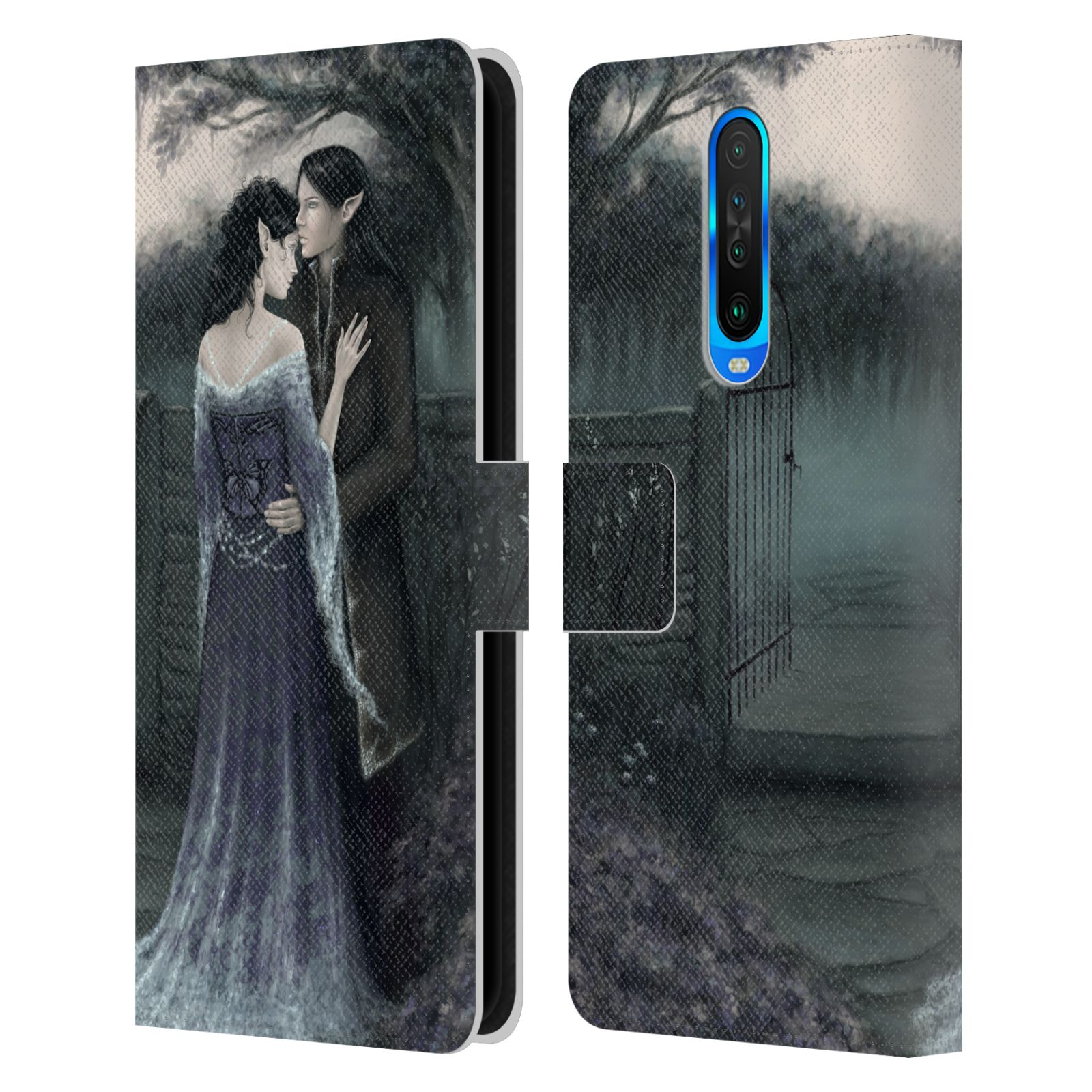 Official Rachel Anderson Romance My Beloved Leather Book Wallet Case For Xiaomi Redmi K30 / 5G
