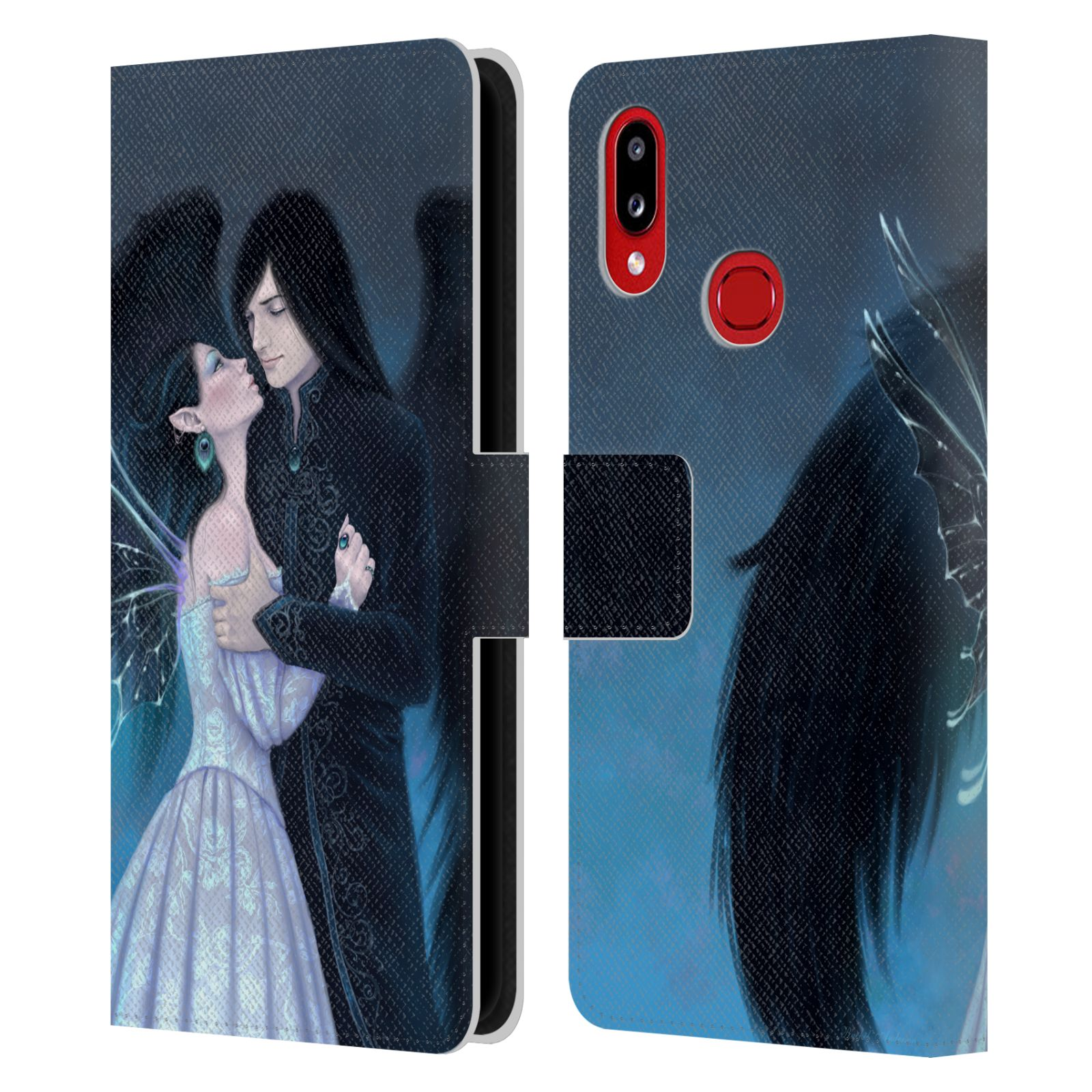 Official Rachel Anderson Romance Sapphire Leather Book Wallet Case For Samsung Galaxy A10s (2019)