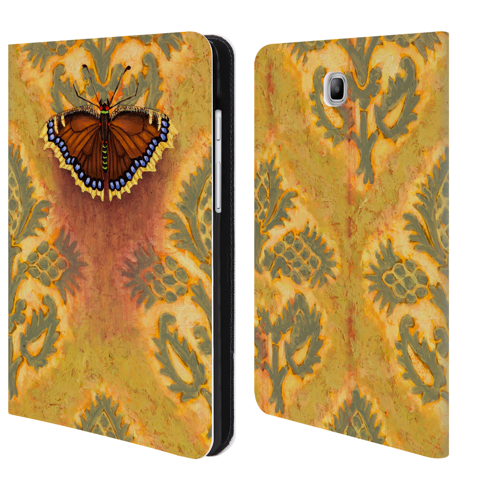 OFFICIAL-RACHEL-PAXTON-INSECTS-LEATHER-BOOK-CASE-FOR-SAMSUNG-GALAXY-TABLETS