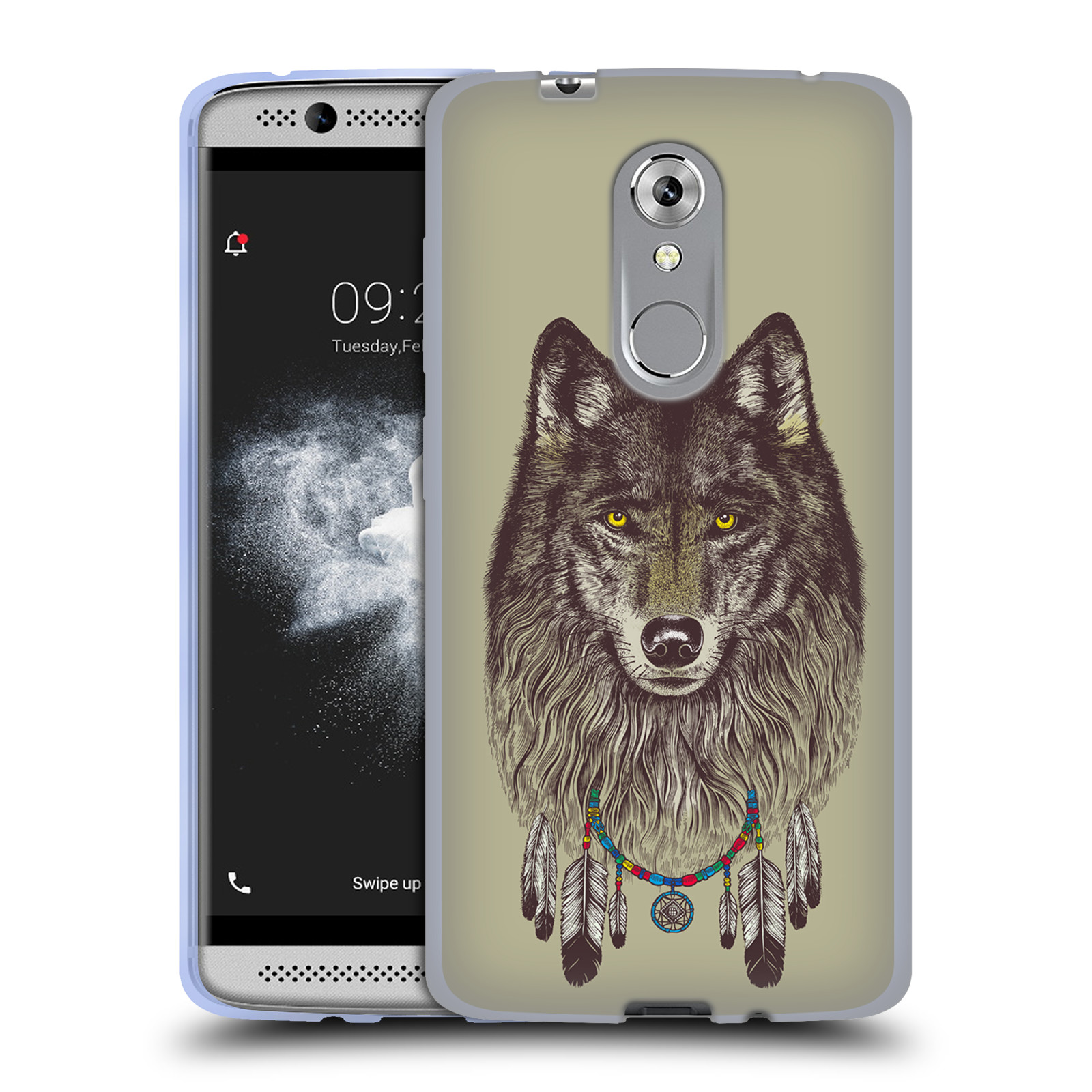 OFFICIAL-RACHEL-CALDWELL-ANIMALS-3-SOFT-GEL-CASE-FOR-ZTE-PHONES