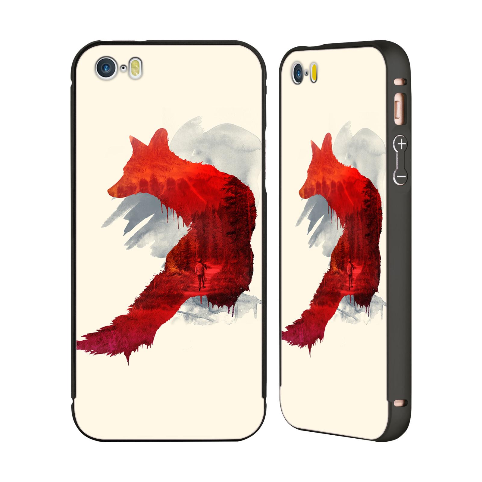OFFICIAL-ROBERT-FARKAS-FOX-BLACK-BUMPER-SLIDER-CASE-FOR-APPLE-iPHONE-PHONES