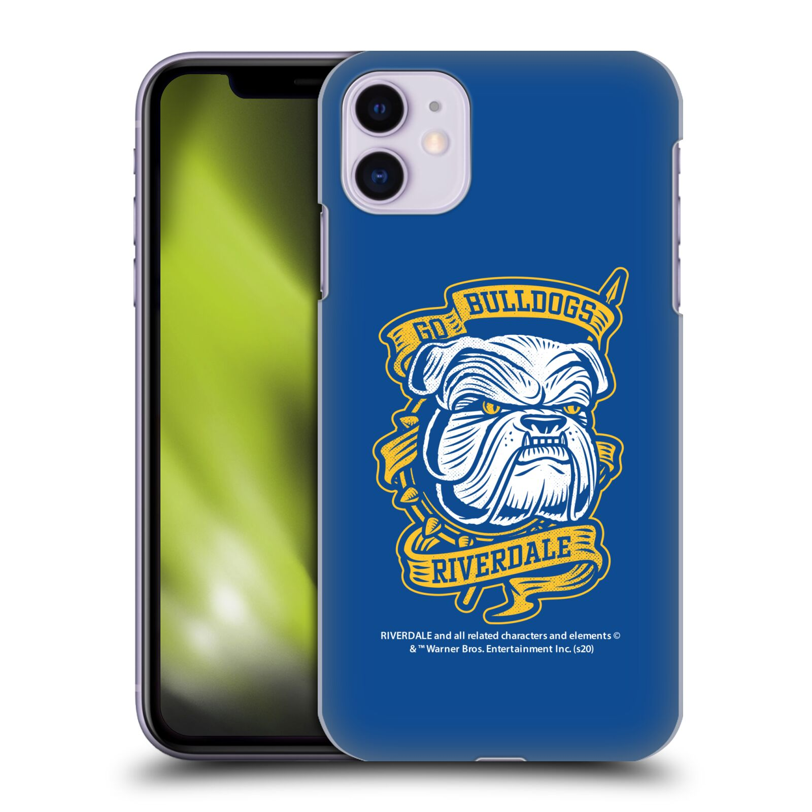 Official Riverdale Art Go Bulldogs Back Case for Apple iPhone 11