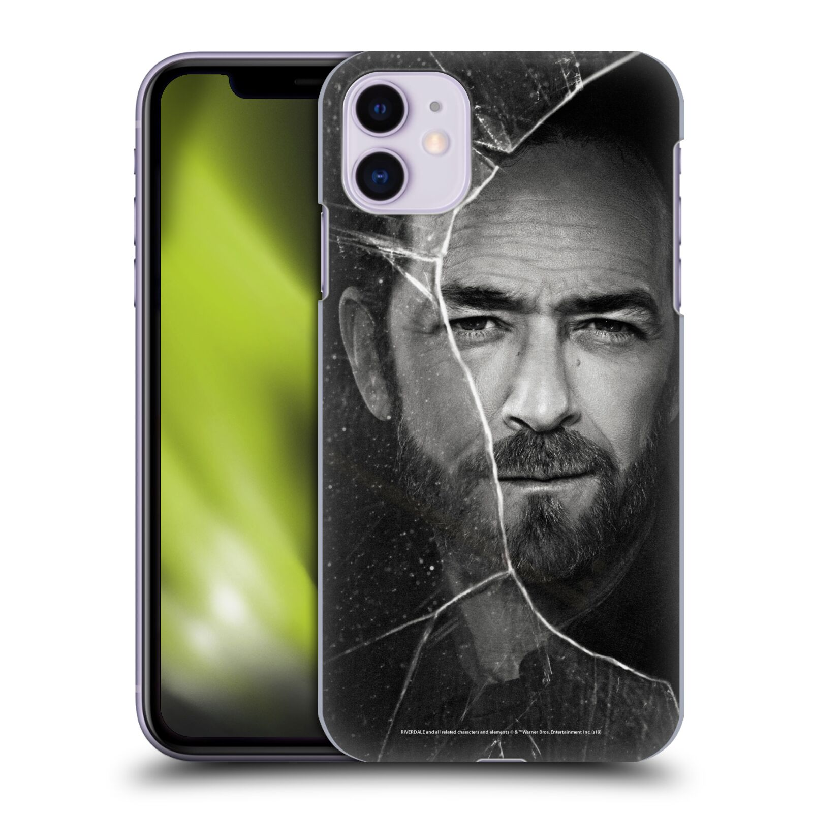 Official Riverdale Broken Glass Portraits Fred Andrews Back Case for Apple iPhone 11