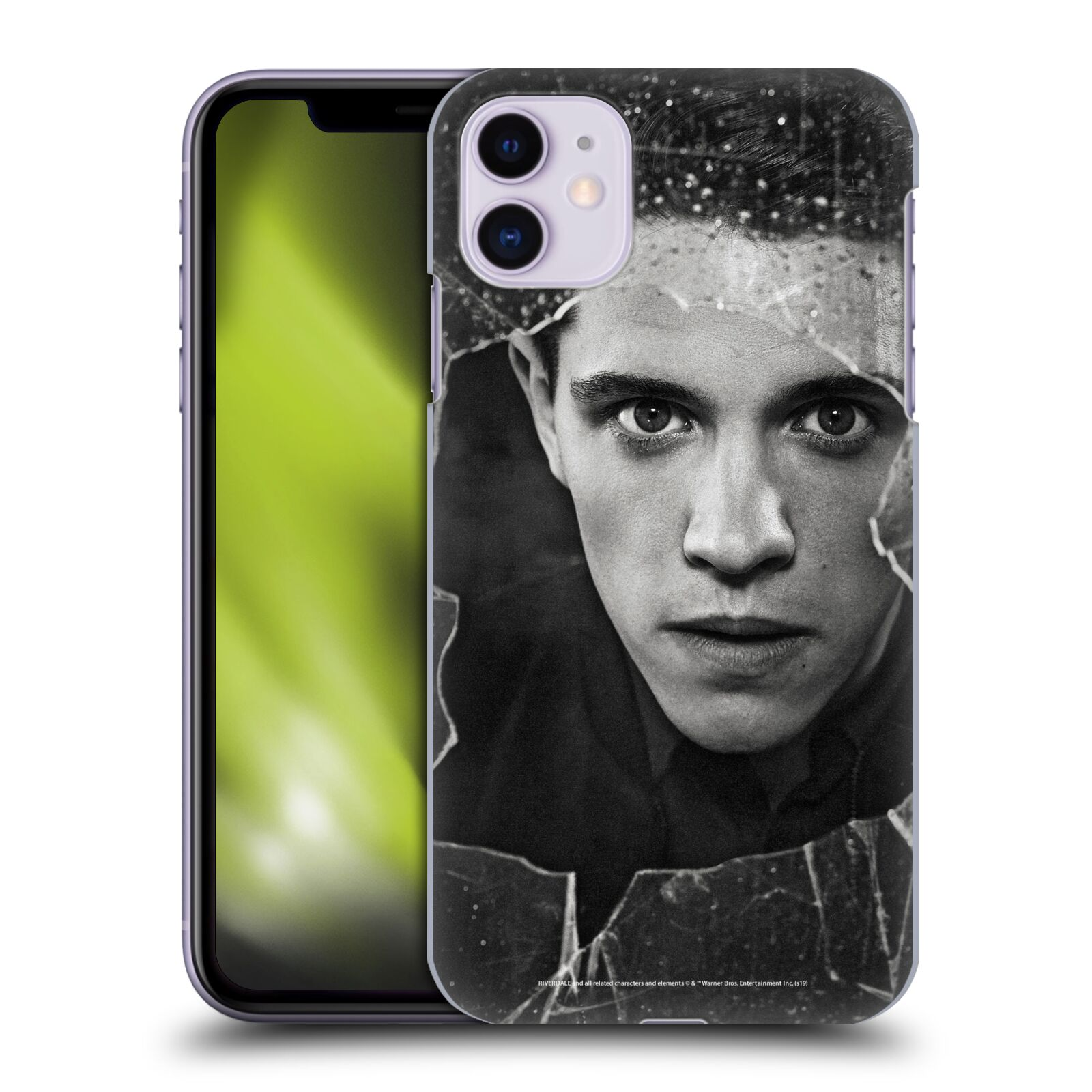 Official Riverdale Broken Glass Portraits Kevin Keller Back Case for Apple iPhone 11