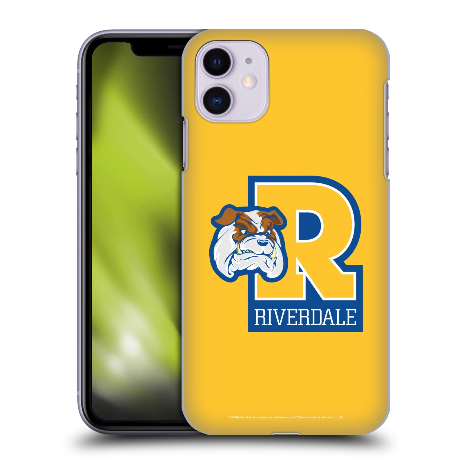 Official Riverdale Graphic Art Bulldogs Logo Back Case for Apple iPhone 11