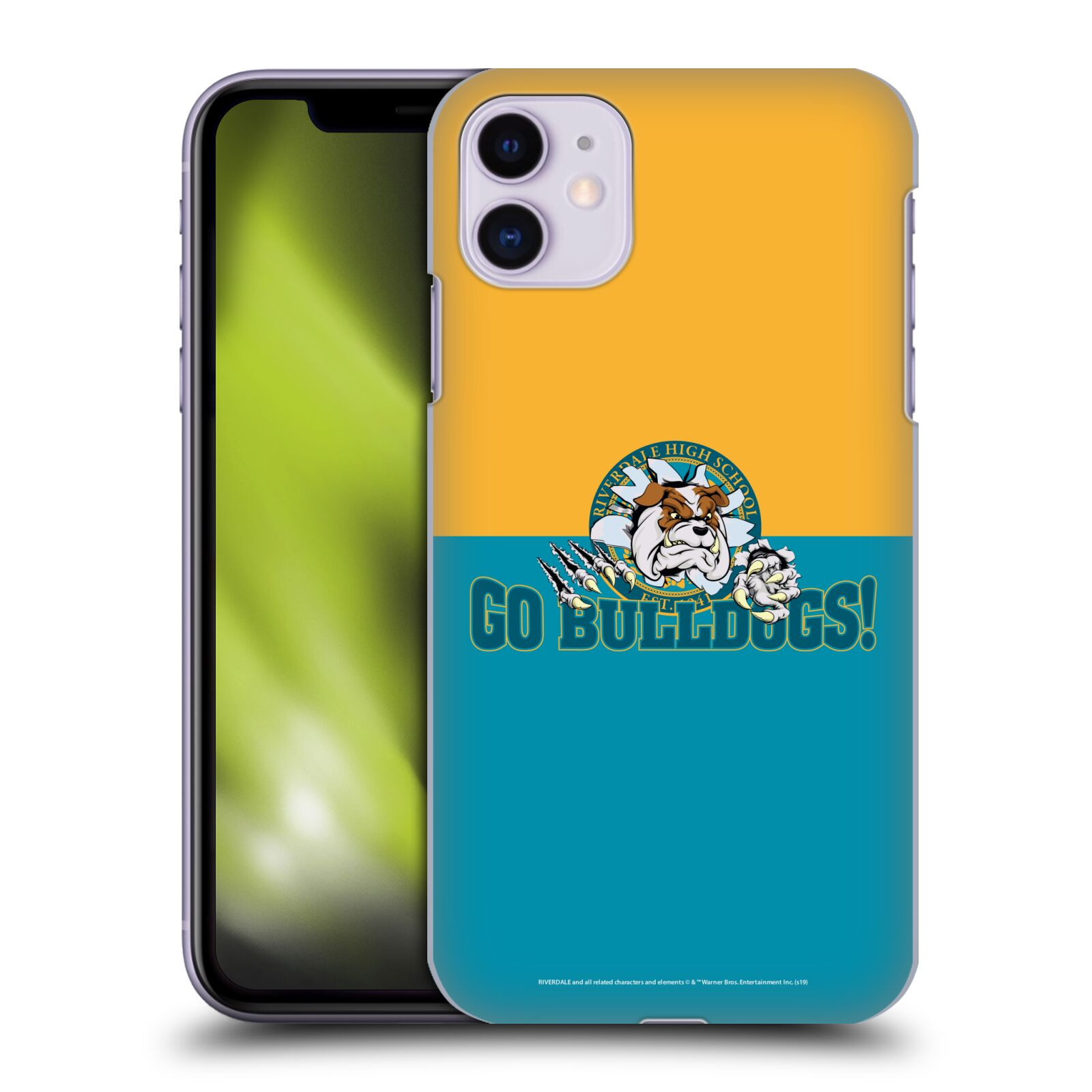Official Riverdale Graphic Art Go Bulldogs! Back Case for Apple iPhone 11