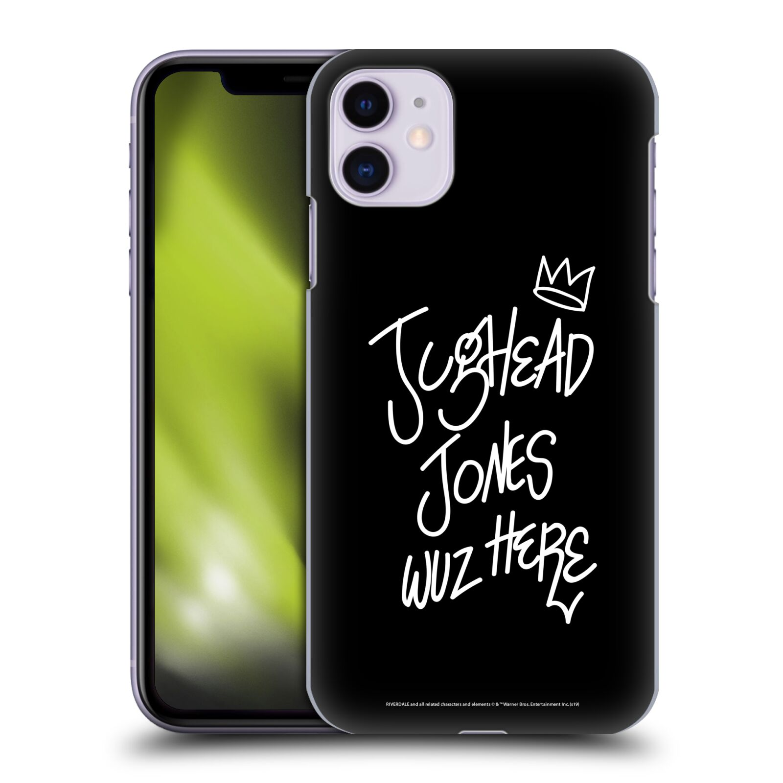 Official Riverdale Graphic Art Jughead Wuz Here Back Case for Apple iPhone 11