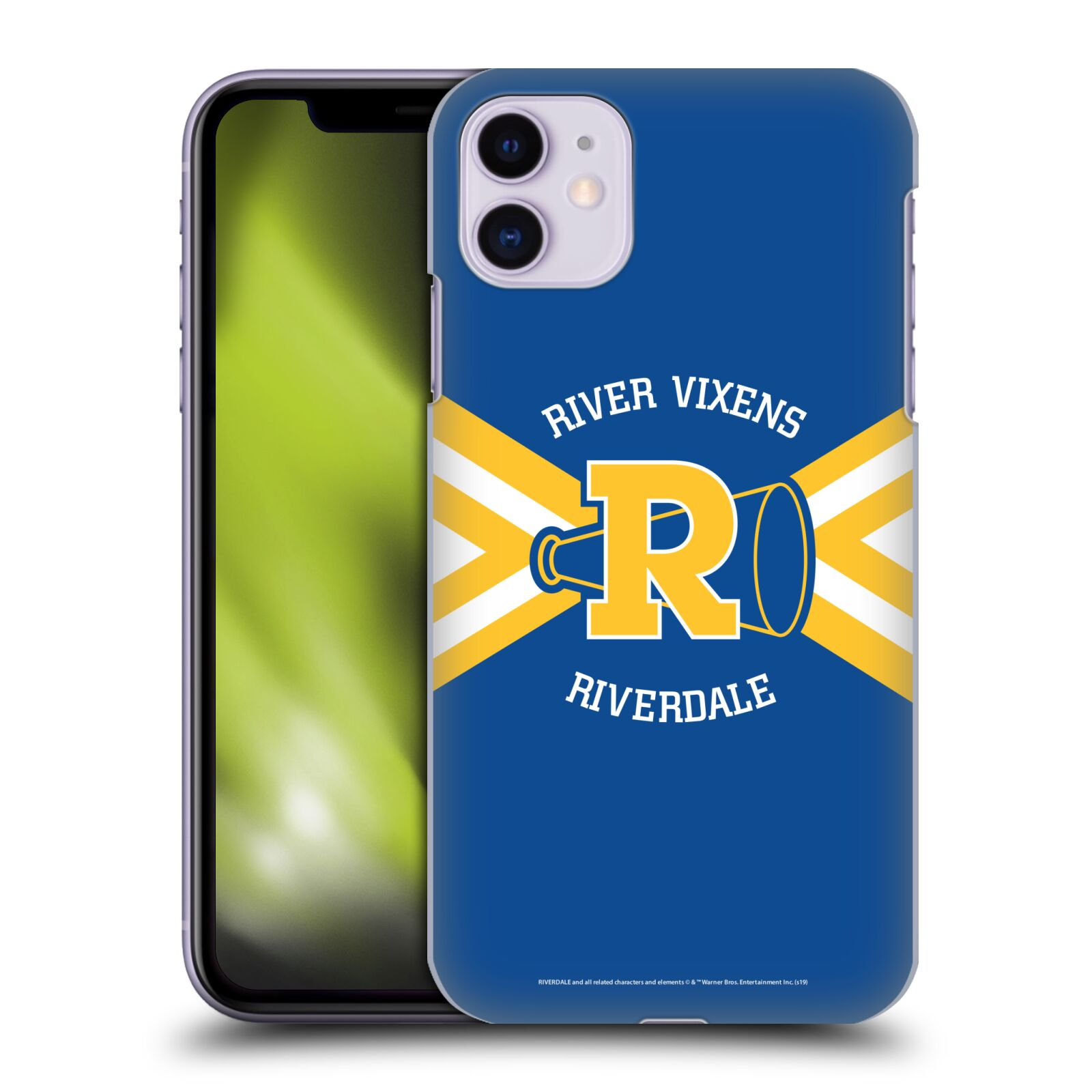 Offizielle Riverdale Grafik Kunst River Vixens Uniform Hülle für Apple iPhone 11