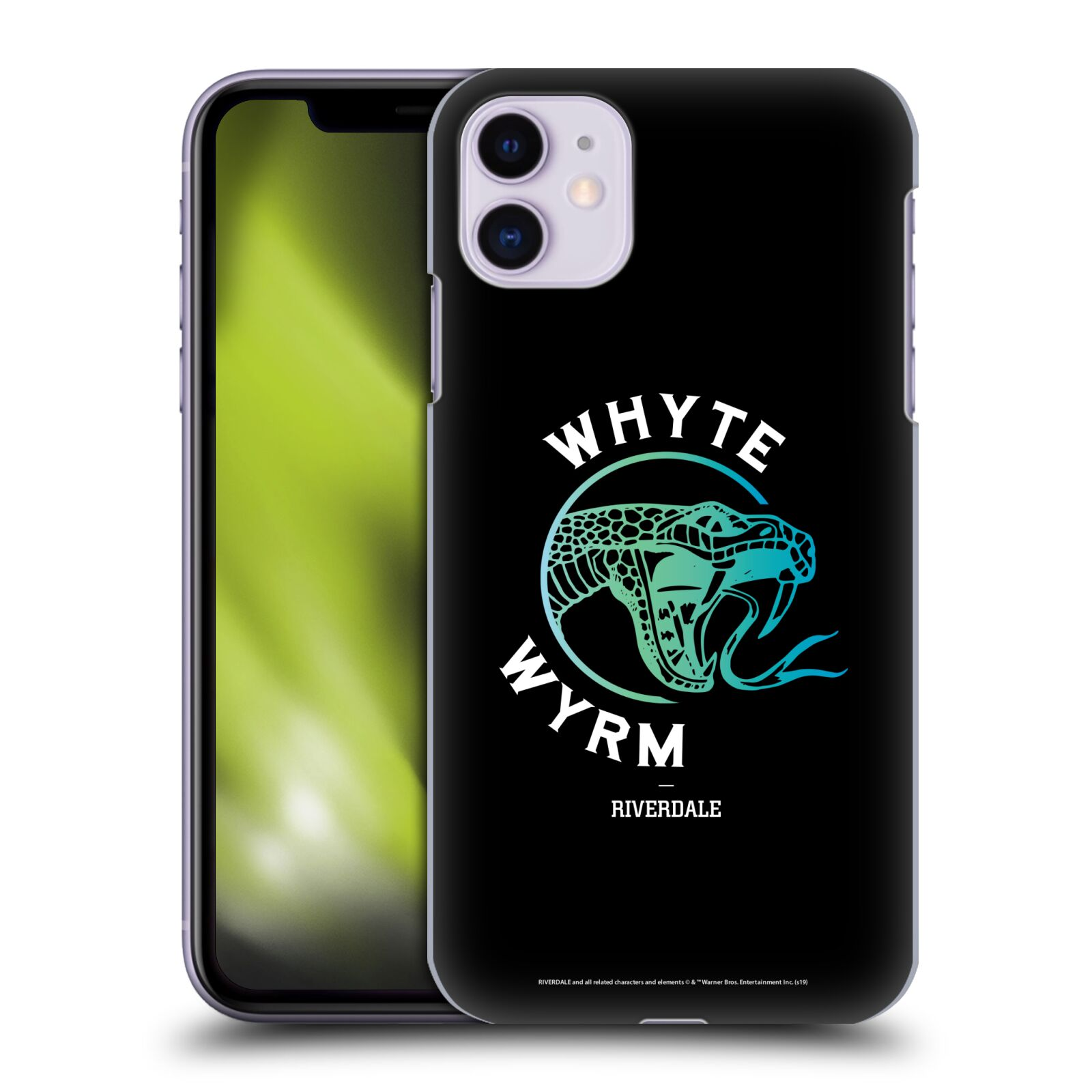 Official Riverdale Graphic Art Whyte Wyrm Back Case for Apple iPhone 11