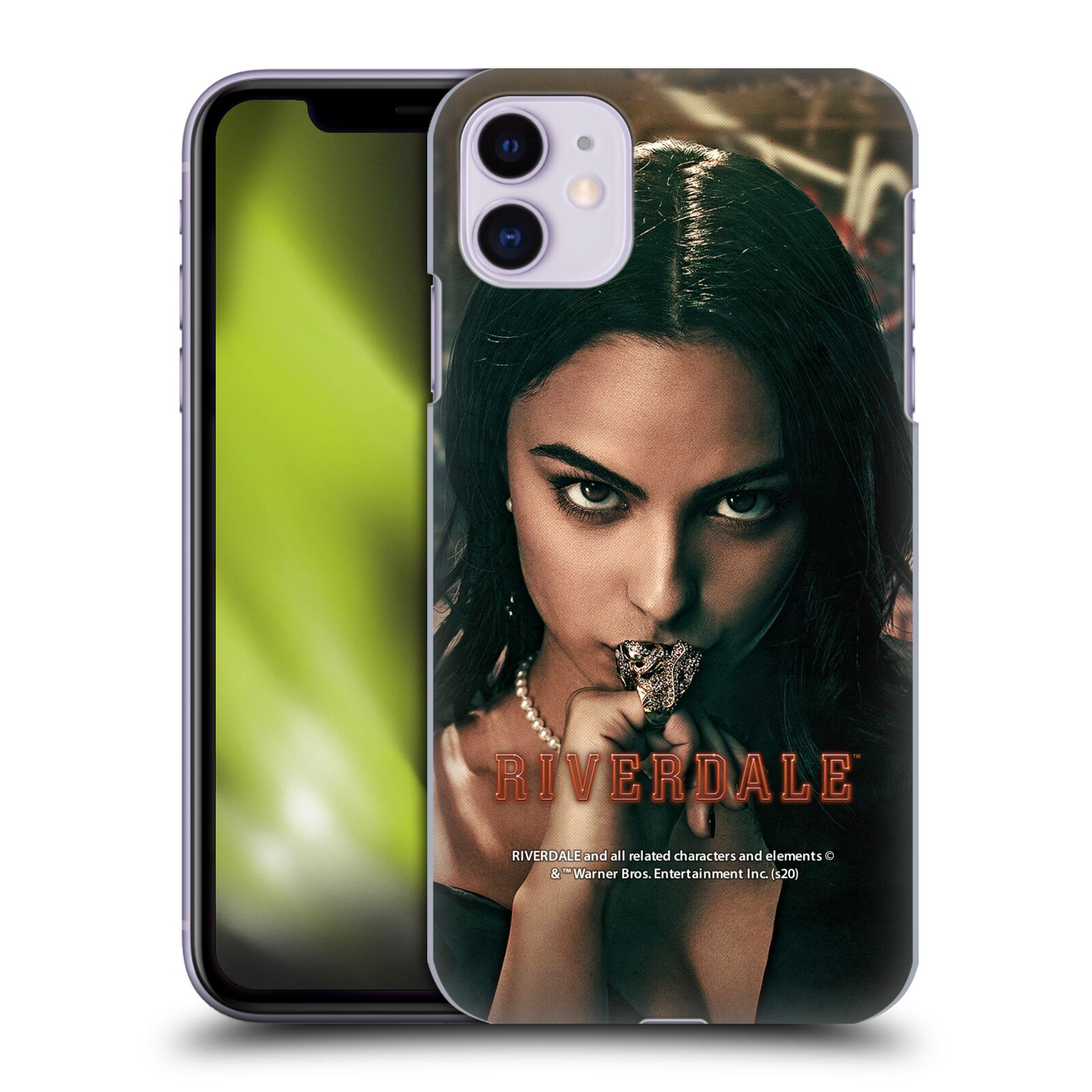 Official Riverdale Posters Veronica Lodge 2 Back Case for Apple iPhone 11