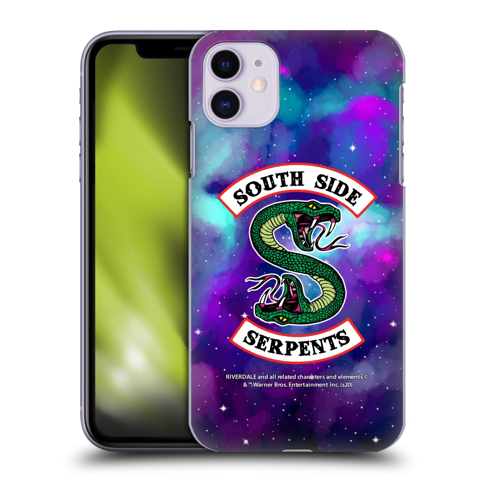 Offizielle Riverdale South Side Serpents Nebel Logo 1 Hülle für Apple iPhone 11