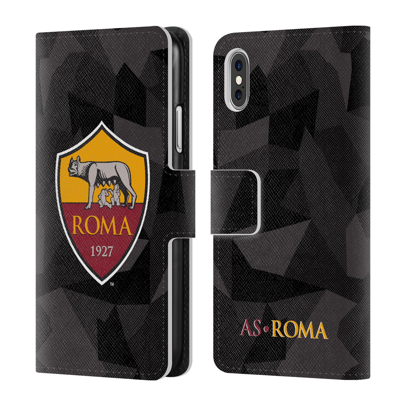 AS-ROMA-2017-18-KIT-CRESTA-COVER-PORTAFOGLIO-IN-PELLE-PER-APPLE-iPHONE-TELEFONI