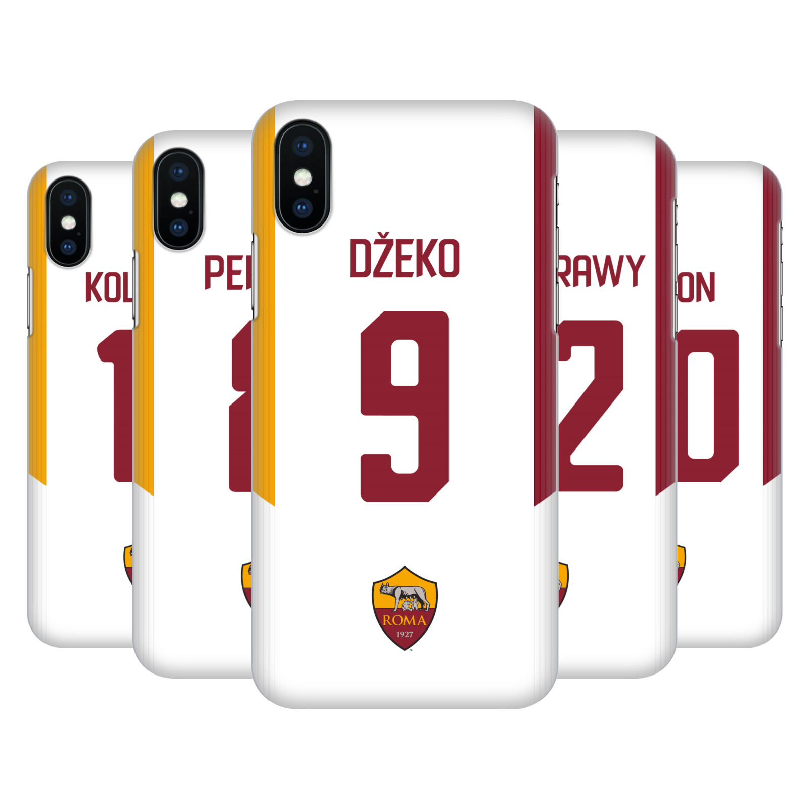 AS Roma 2017/18 Players Away Kit Group 1