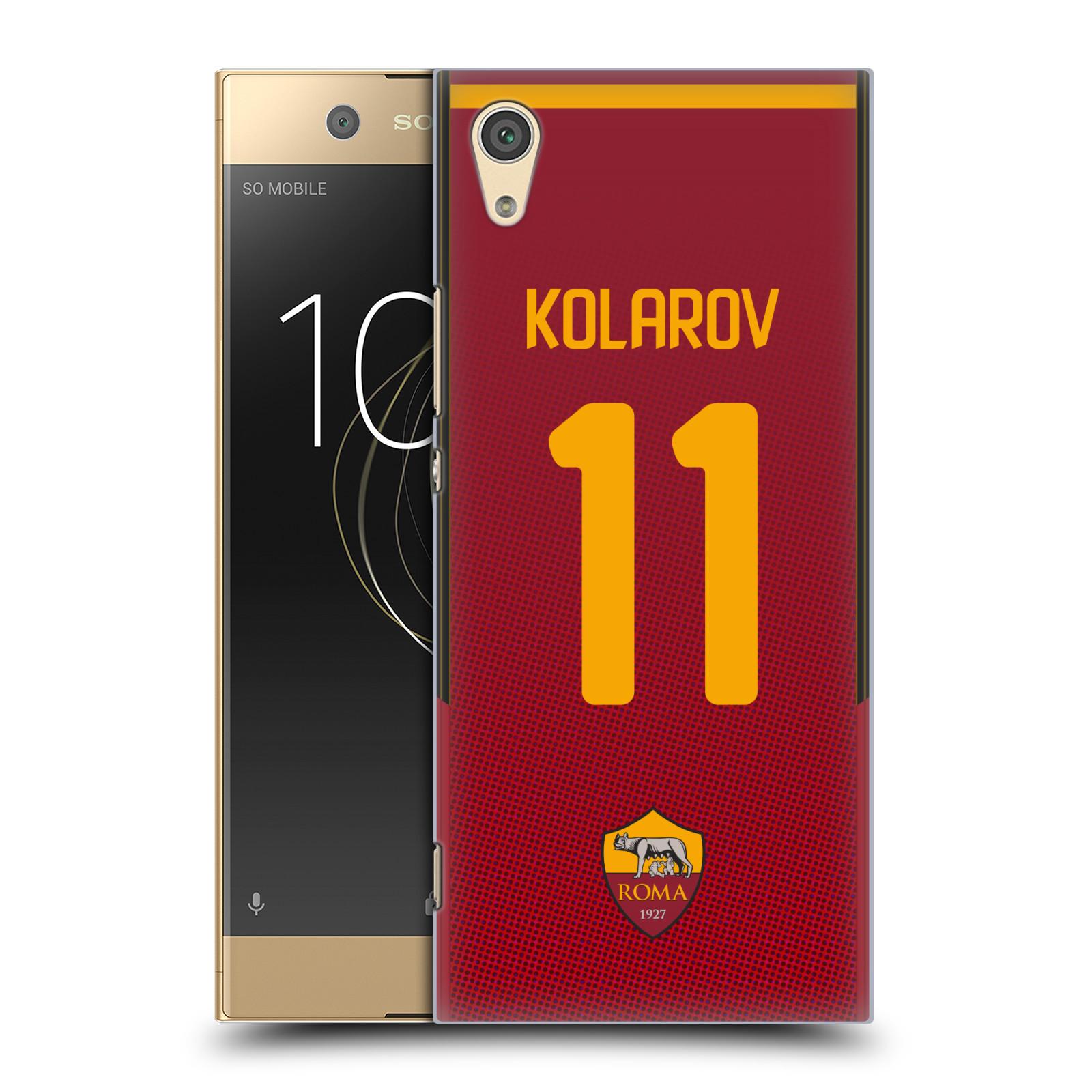 Oficial-como-ROMA-2017-18-jugadores-Home-Kit-grupo-1-volver-estuche-para-SONY-telefonos-1