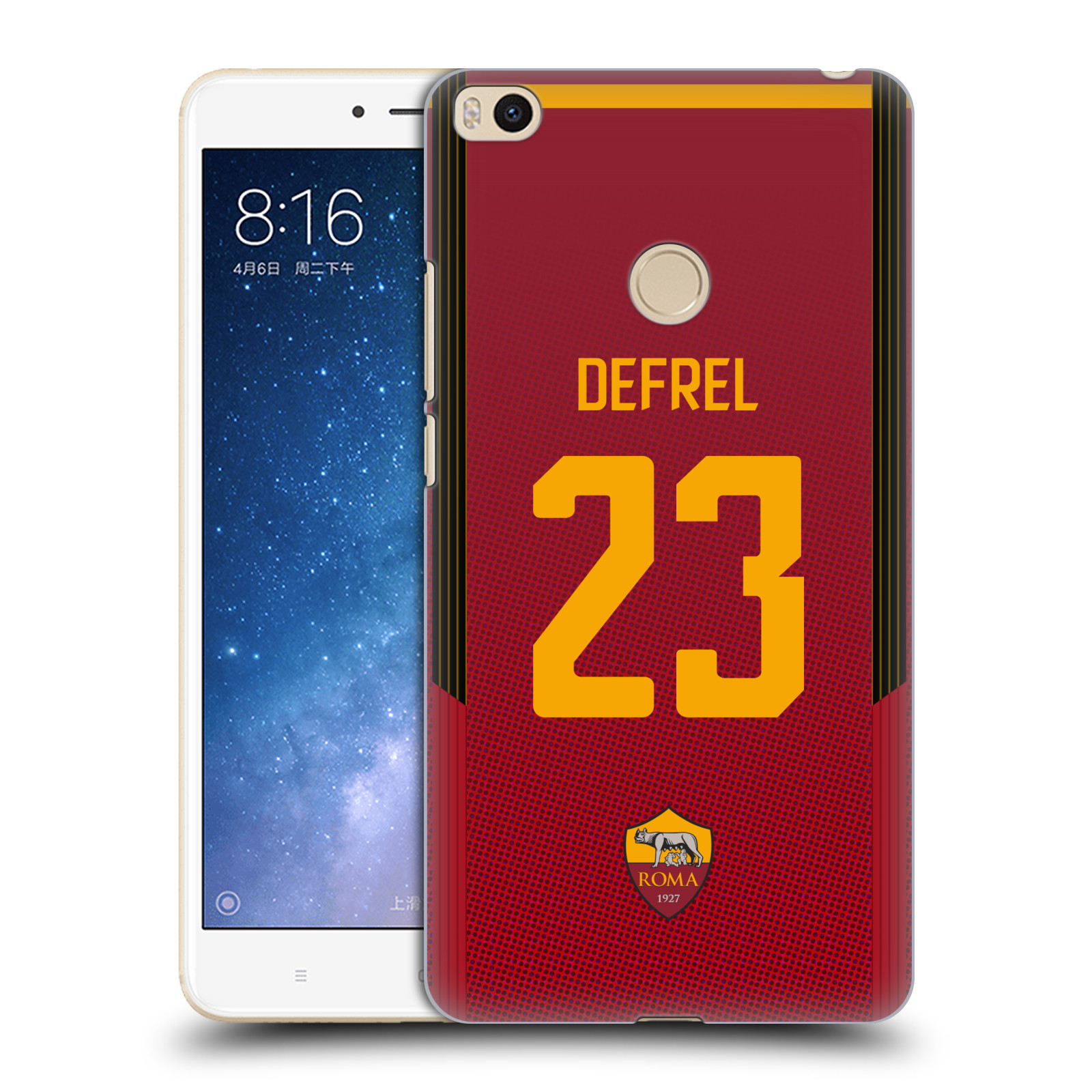 OFFICIAL-AS-ROMA-2017-18-PLAYERS-HOME-KIT-GROUP-2-BACK-CASE-FOR-XIAOMI-PHONES-2