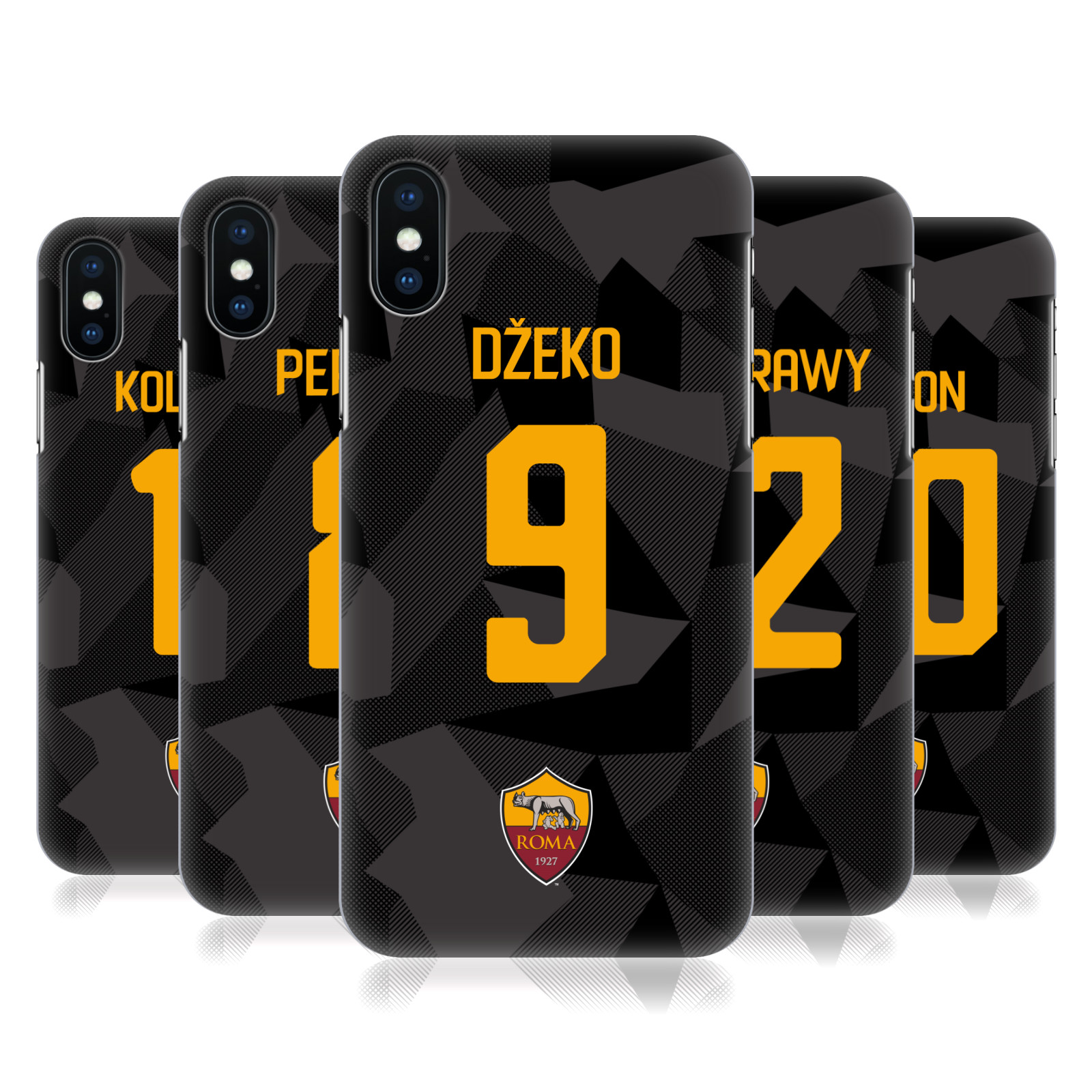 AS Roma 2017/18 Players Third Kit Group 1