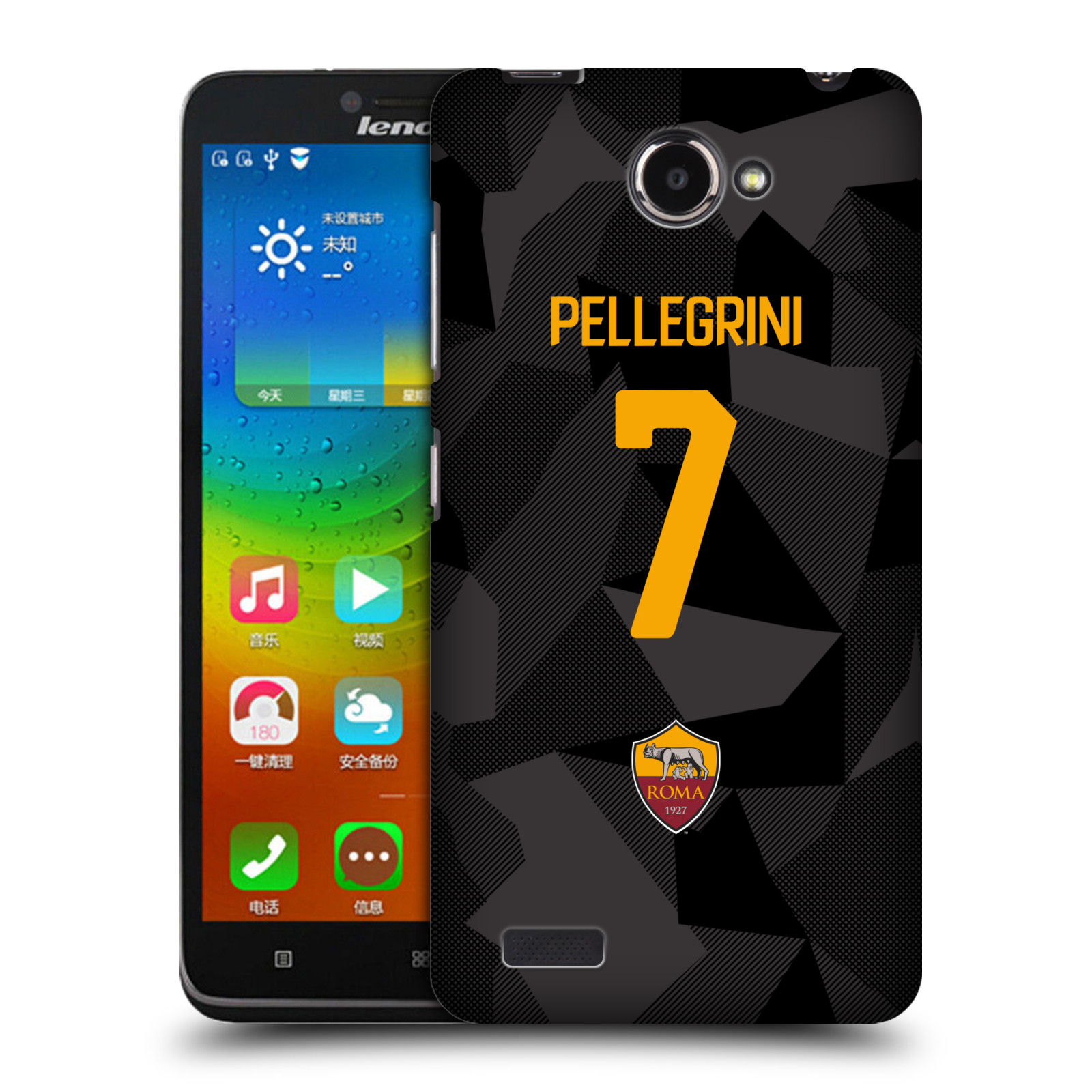 OFFICIAL-AS-ROMA-2017-18-PLAYERS-THIRD-KIT-GROUP-1-BACK-CASE-FOR-LENOVO-PHONES