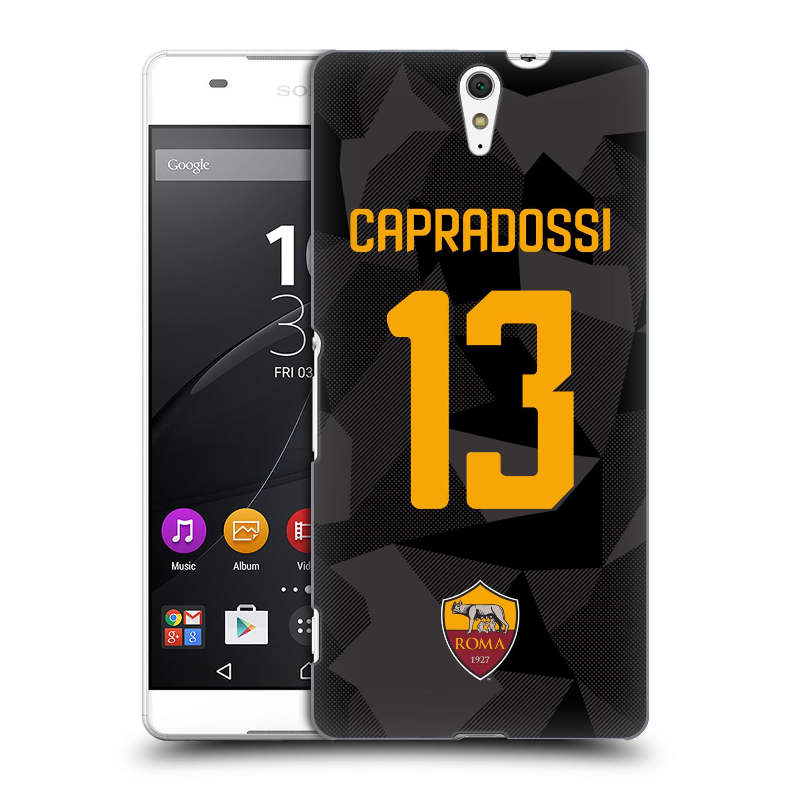 Oficial-como-ROMA-2017-18-jugadores-tercera-Kit-grupo-2-volver-estuche-para-SONY-PHONES-2
