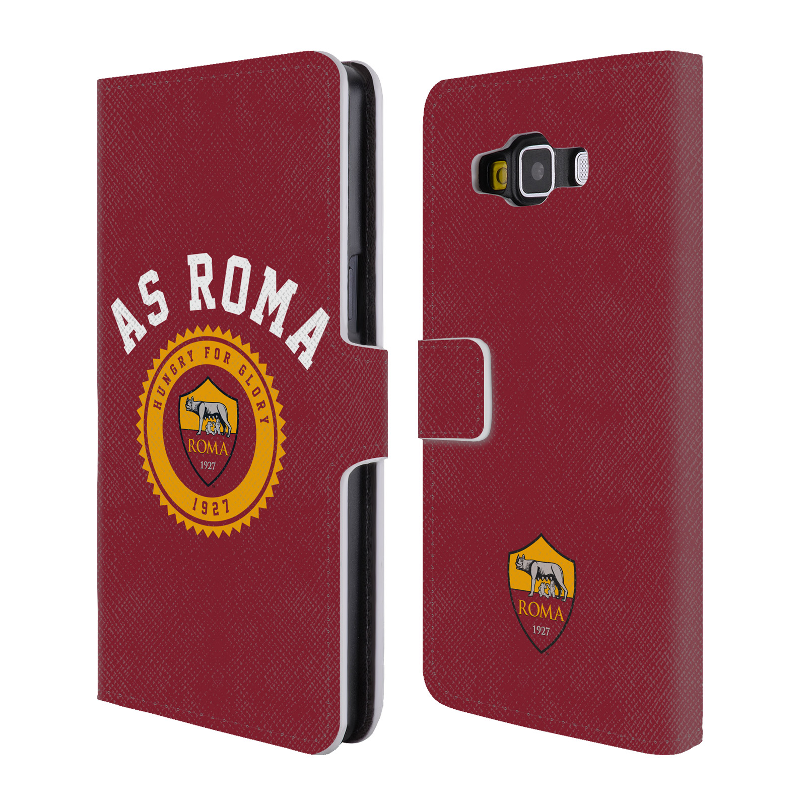 OFFICIAL-AS-ROMA-2017-18-TYPOGRAPHY-LEATHER-BOOK-CASE-FOR-SAMSUNG-PHONES-2